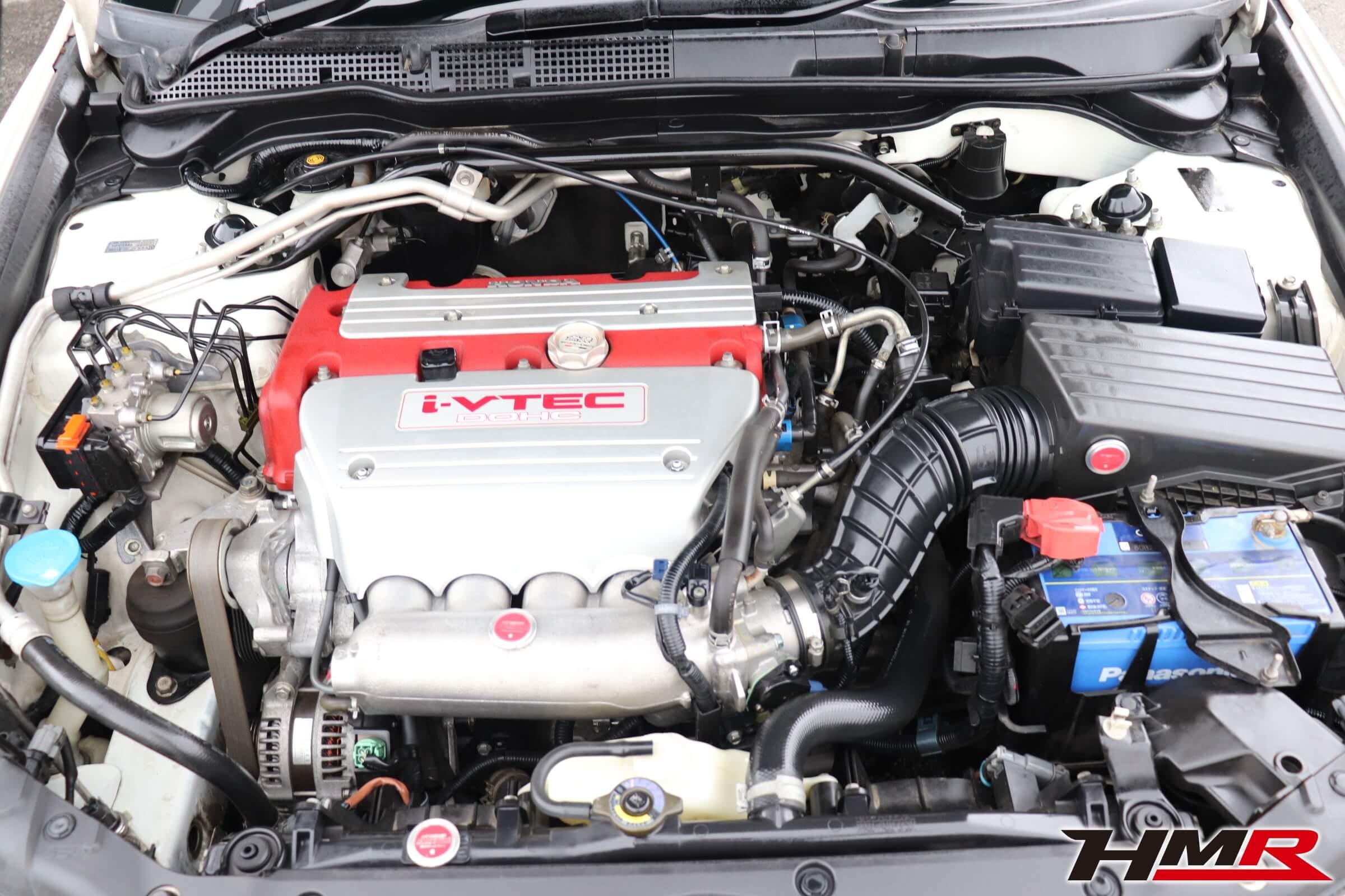 アコードユーロR(CL7)後期型 エンジンルーム