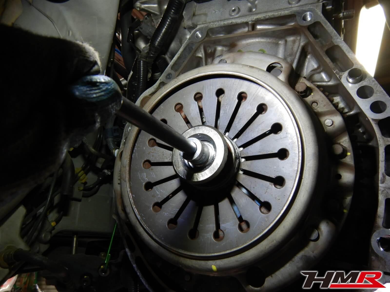 S2000(AP1)クラッチ交換 レリーズベアリング交換