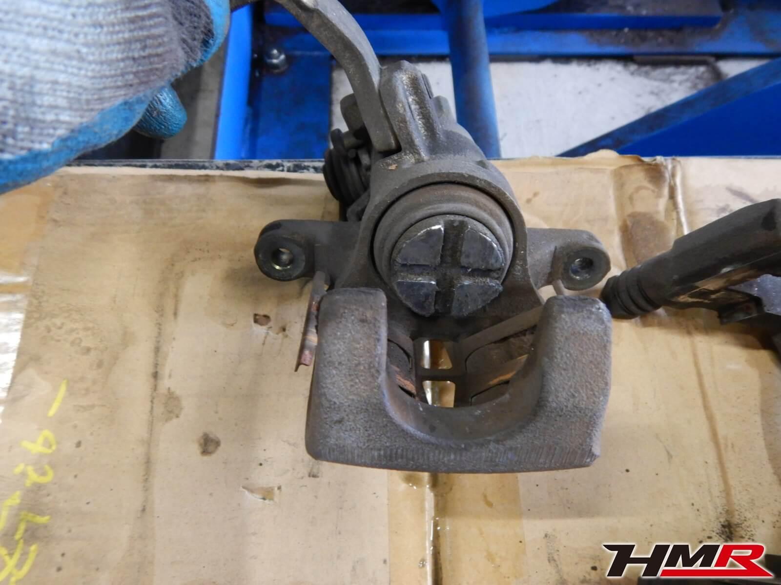 EK9 シビック ブレーキ オーバーホール