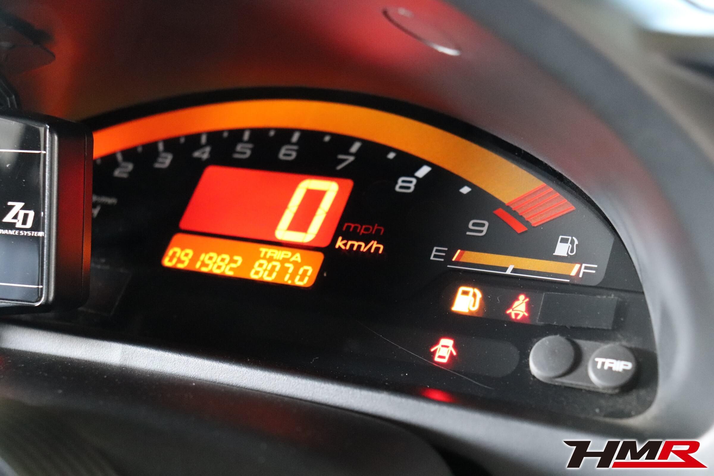 ホンダワンメイクレース S2000ガソリン残量