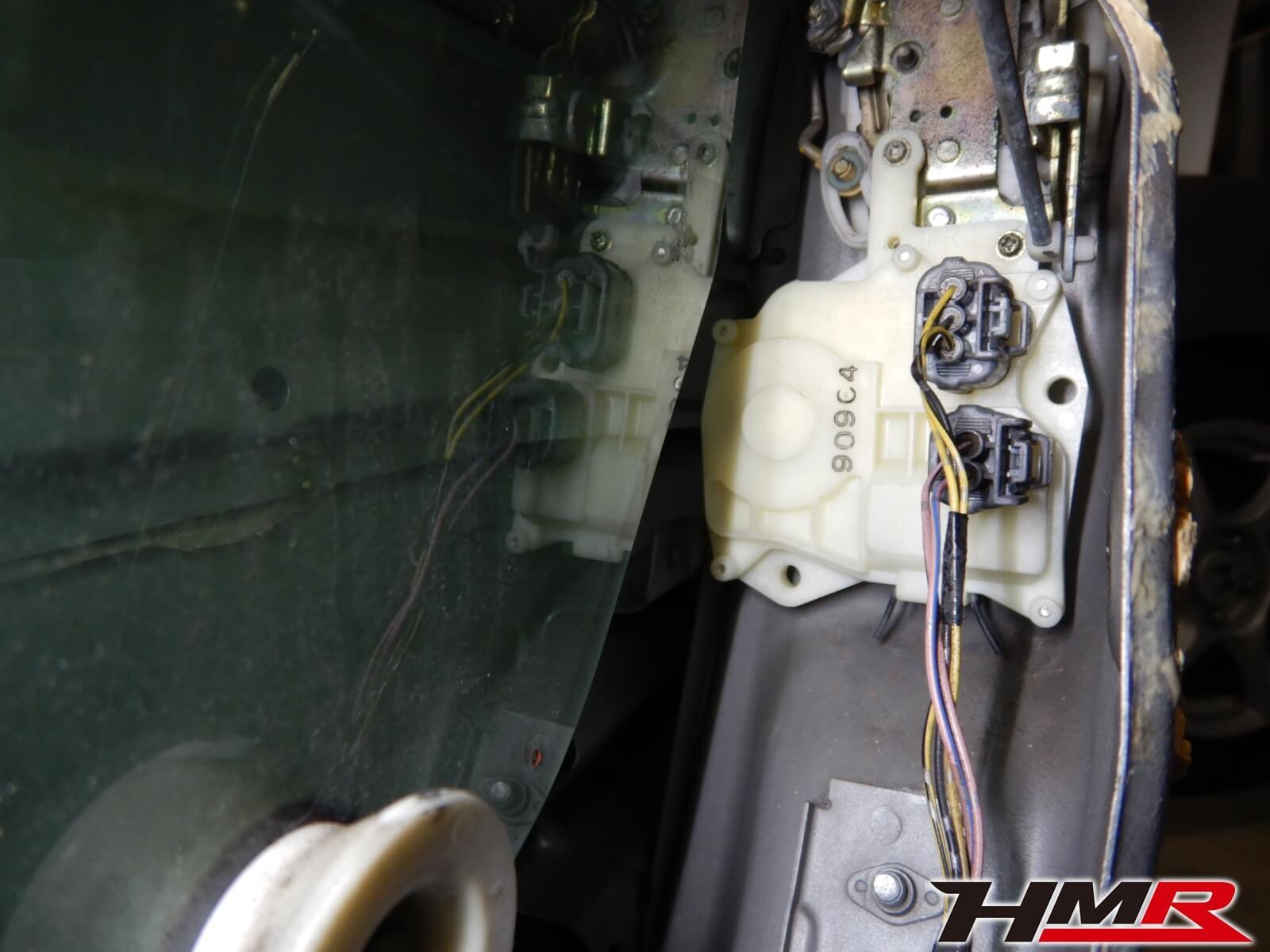 S2000(AP1)ドアロックアクチュエーター交換