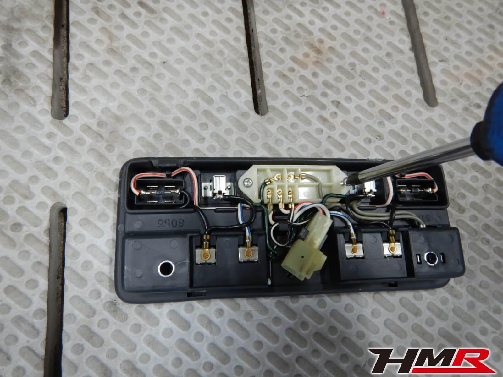 S2000(AP1)ルームランプ修理