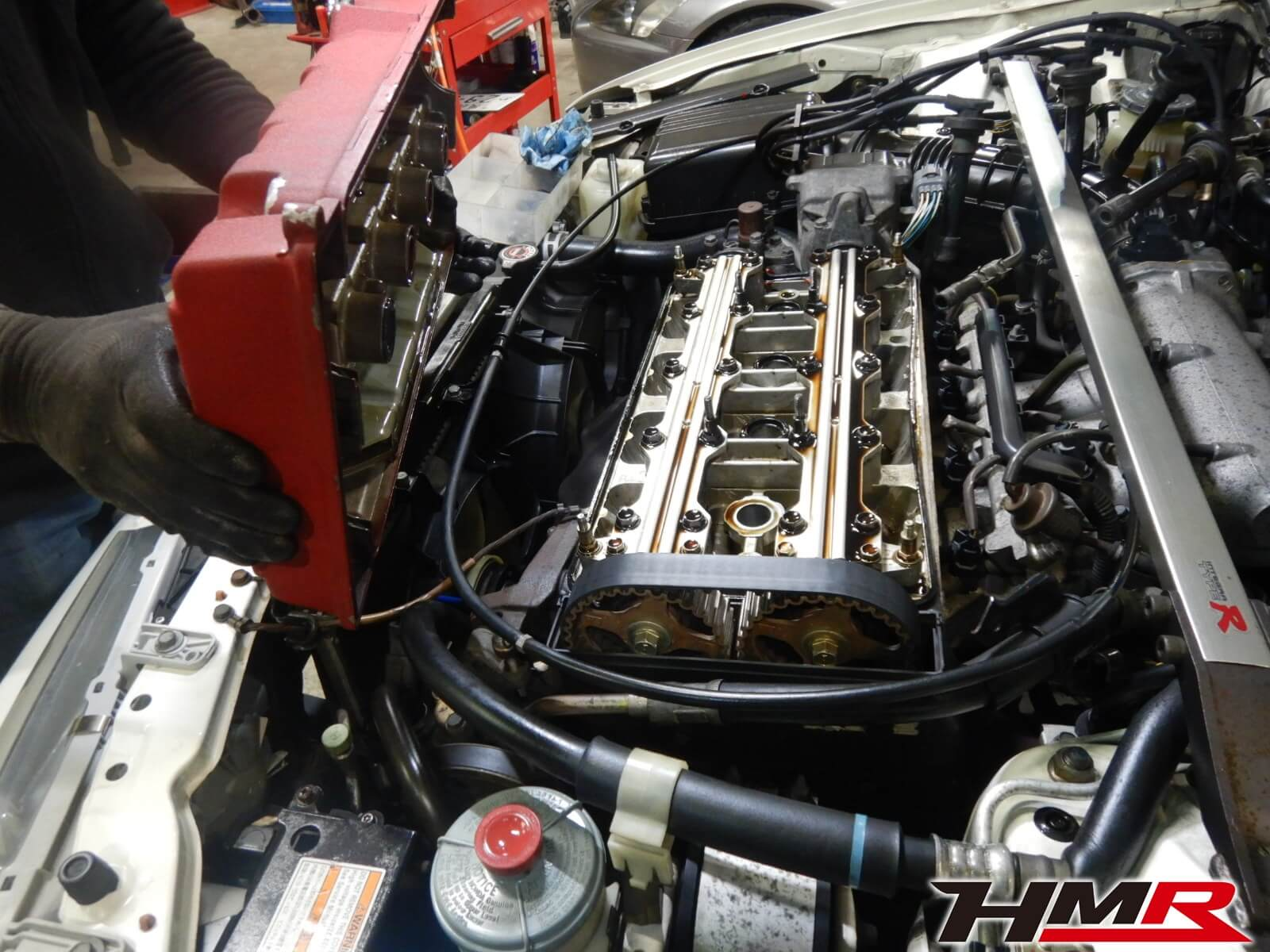 98DC2タイプRヘッドカバーP/K交換
