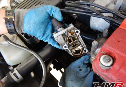 シビックタイプR EK9 スプールバルブ カムシャフトエンドキャップ ガスケット 交換 オイル滲み オイル漏