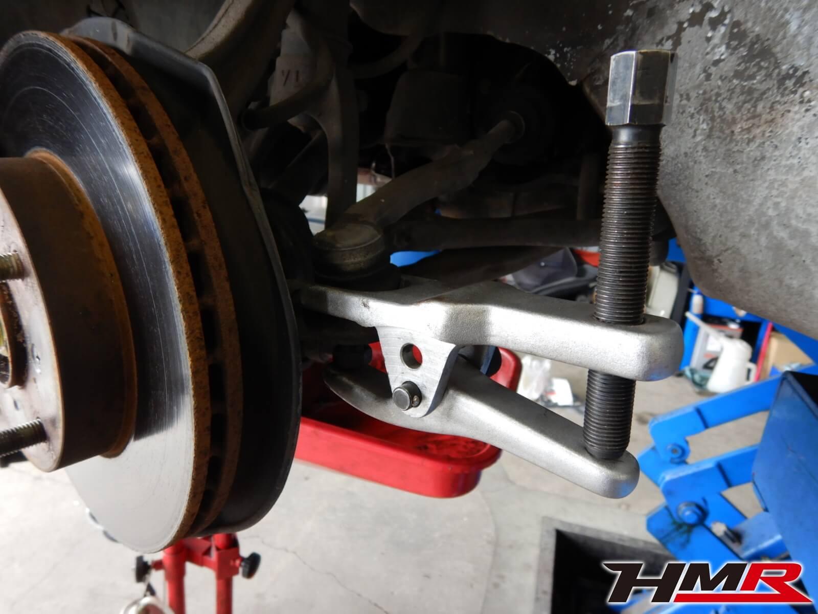 インテグラタイプR DB8 オイルパン オイル漏れ ブレーキ固着 タイロッドエンドブーツ