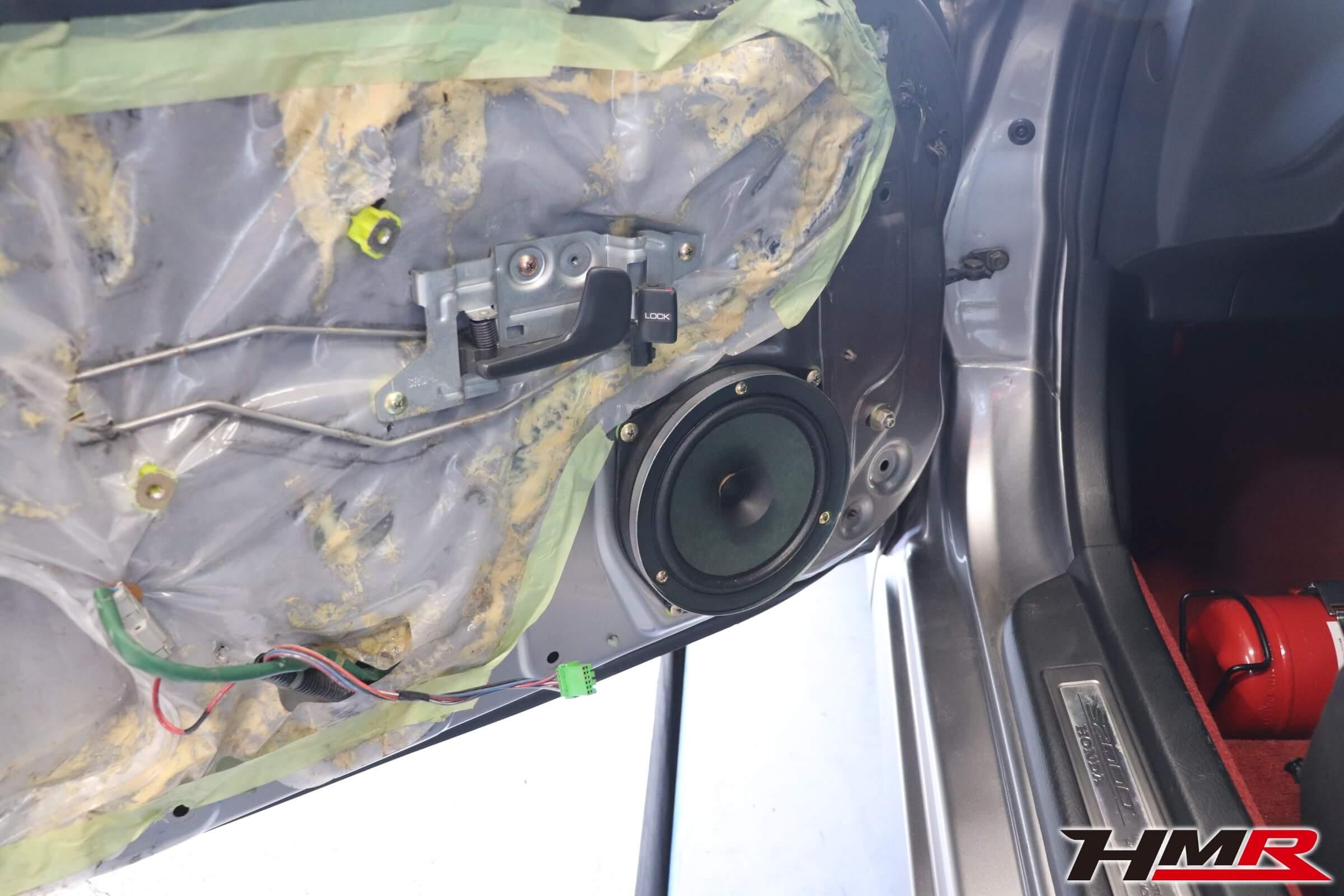HMR S2000 カロッツェリア取り付け