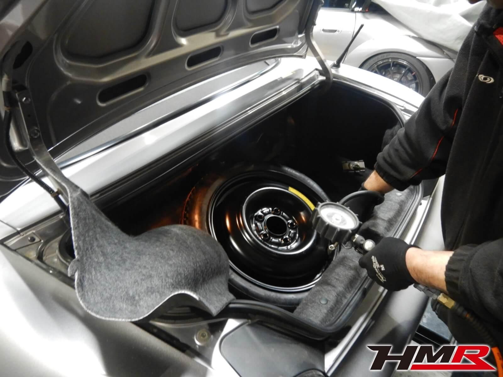 S2000 AP1 スペアタイヤ点検