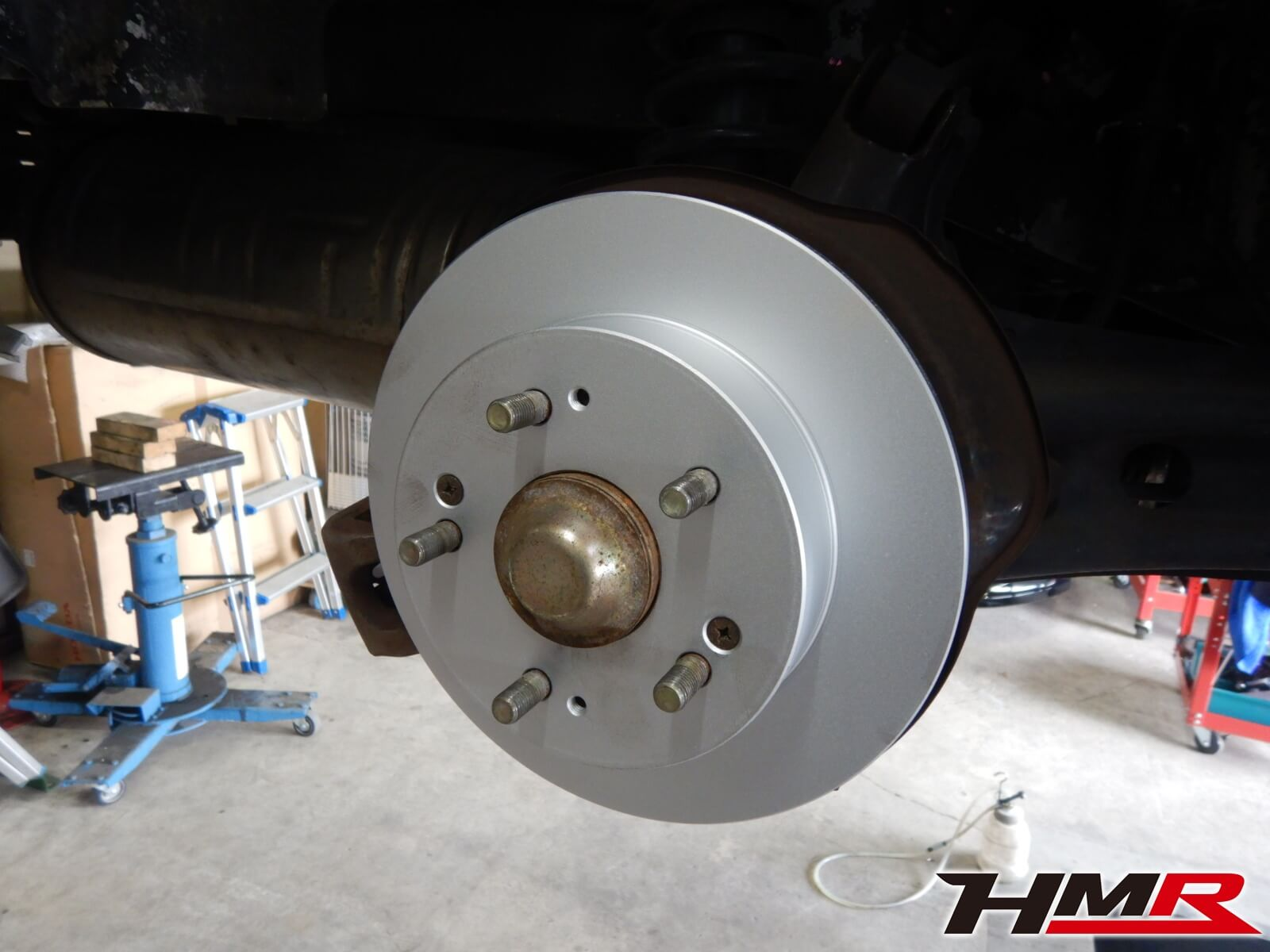 インテグラタイプR DC2 ブレーキローター交換
