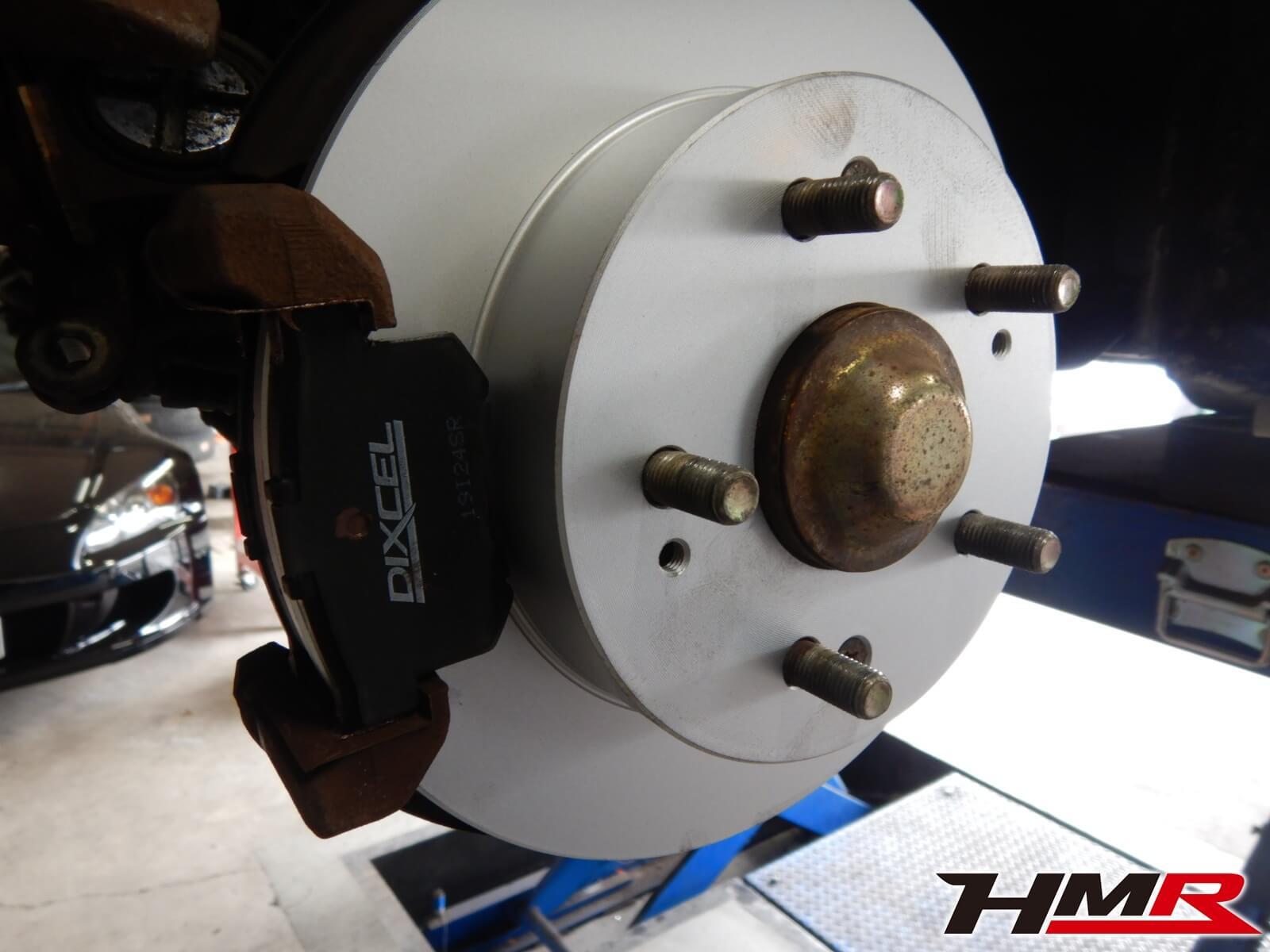 インテグラタイプR DC2 ブレーキパッド交換