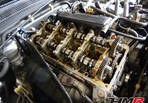 S2000 AP1 ヘッドカバーパッキン交換