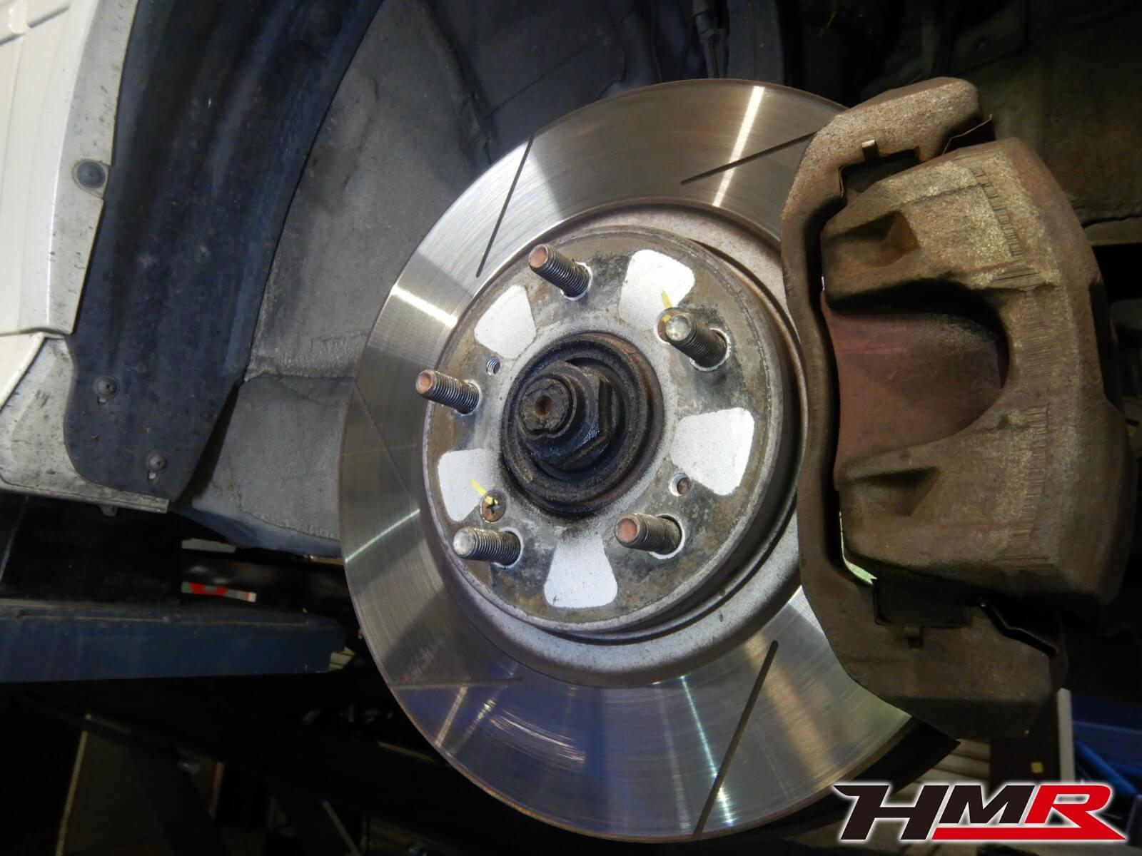 トルネオユーロR(CL1) ブレーキ点検