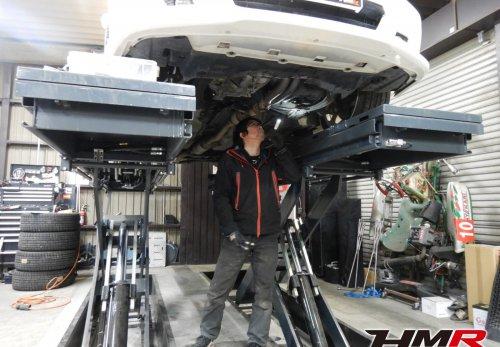 トルネオユーロR(CL1) 車検整備