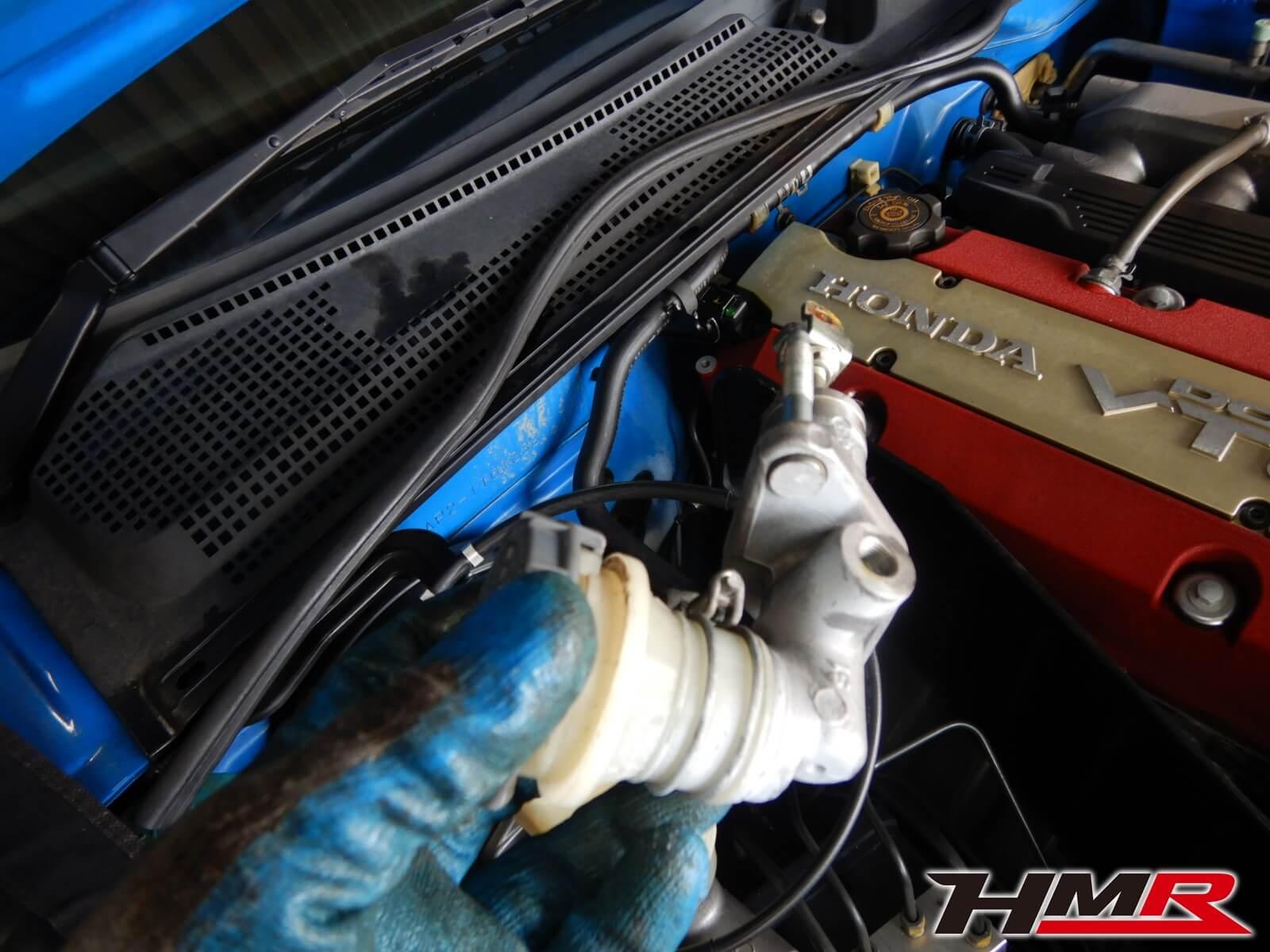 S2000TYPES AP2 クラッチマスター交換