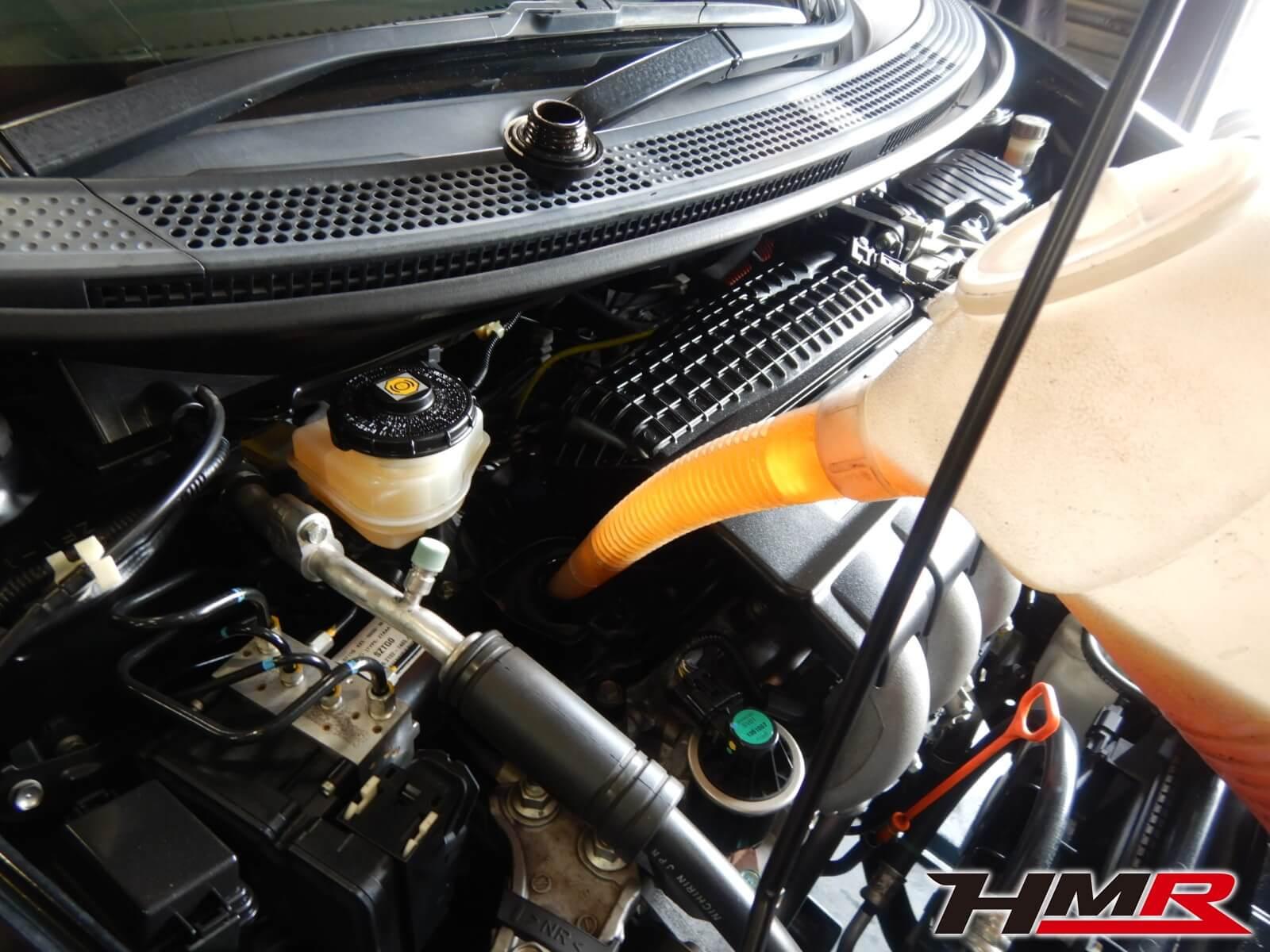 CR-Z ZF1 エンジンオイル交換