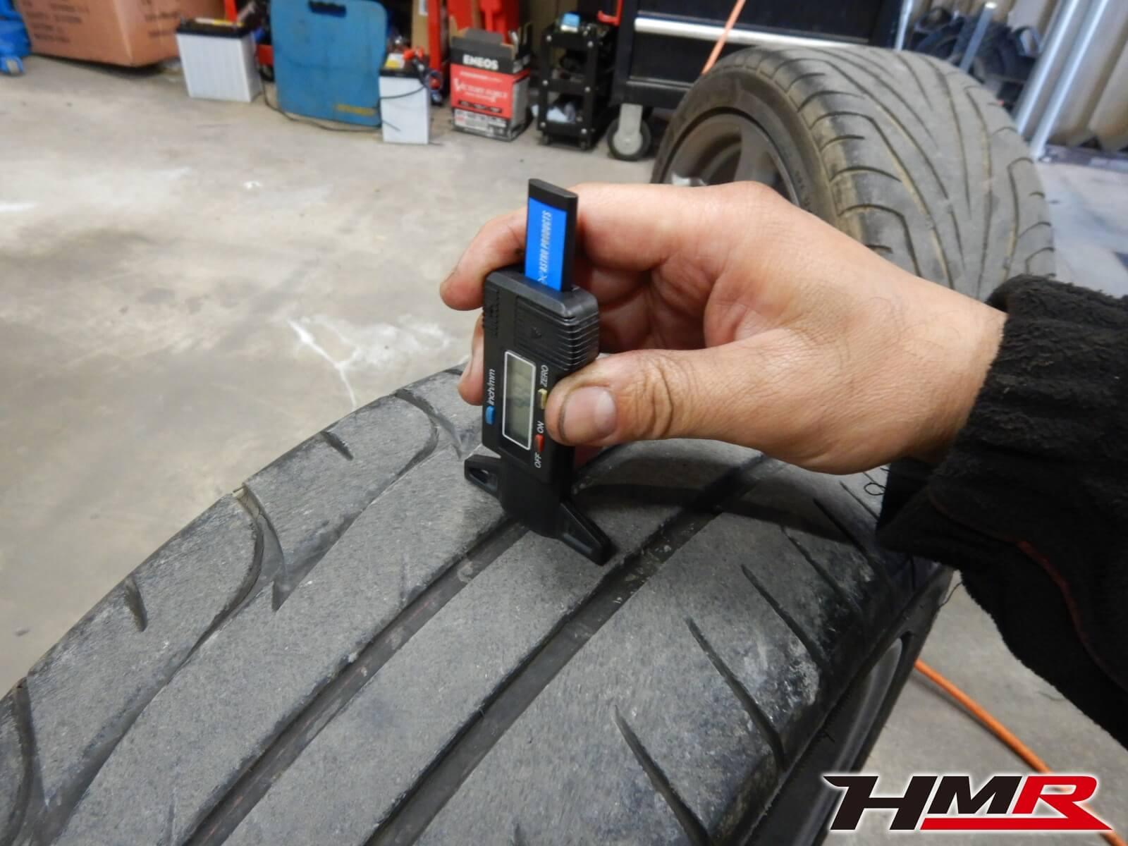 S2000 AP1 タイヤ点検