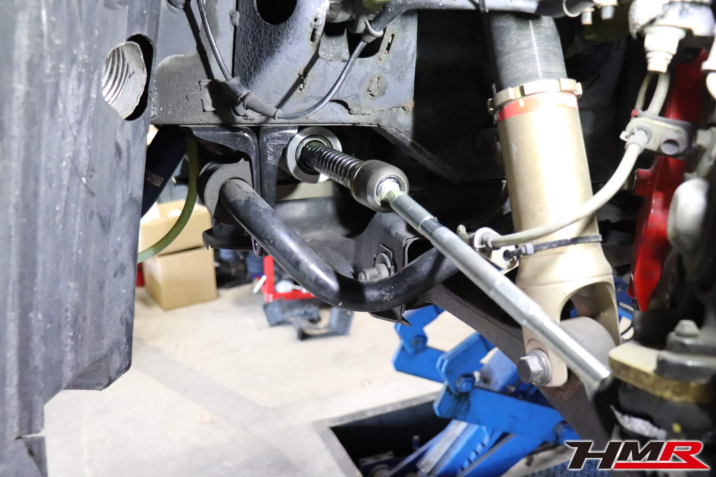 S2000 タイロッドエンド・ステアリングラック交換