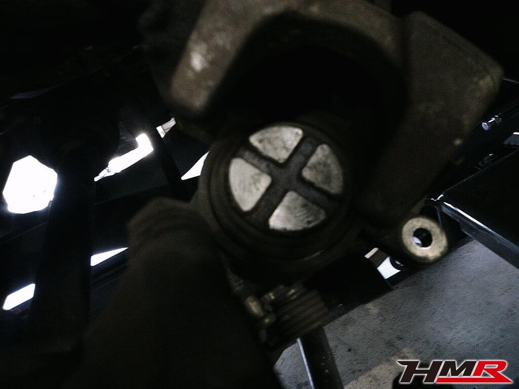S2000 AP2 ブレーキ点検
