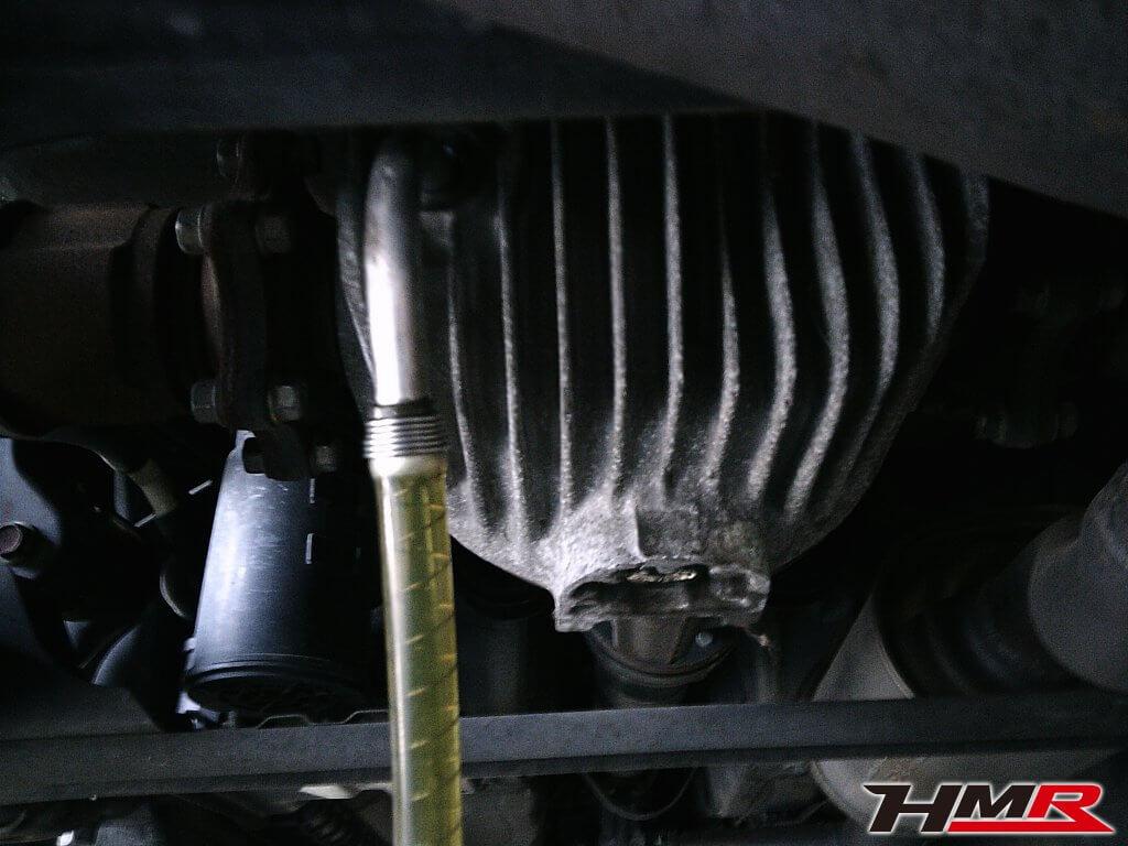 S2000 AP1 デフオイル交換
