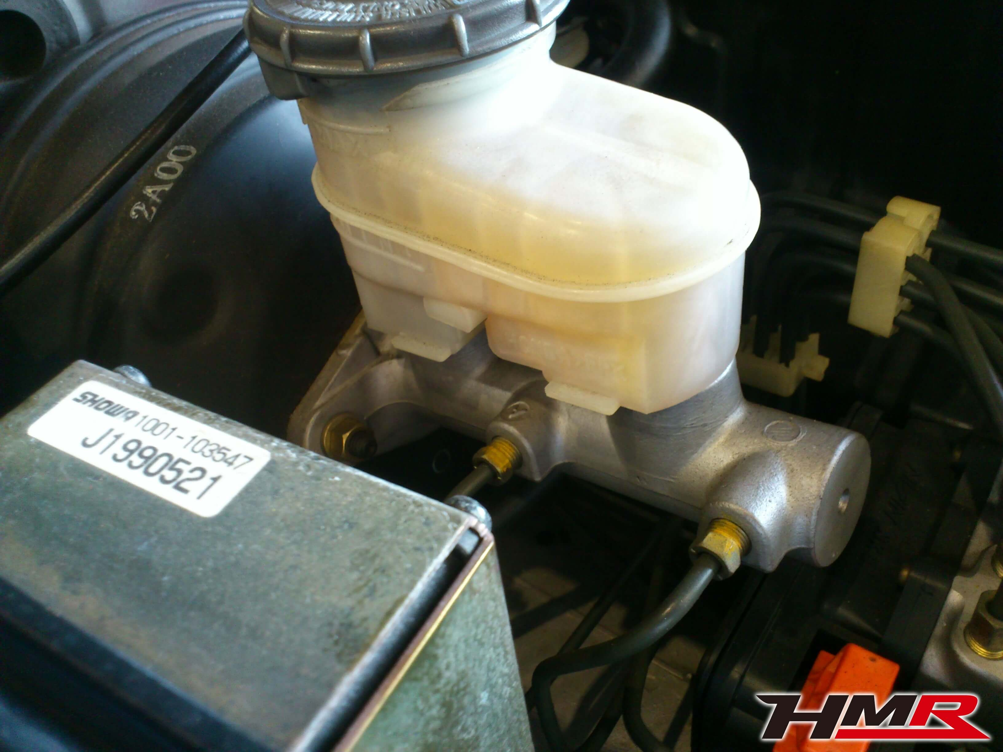 S2000 AP1 ブレーキマスター点検