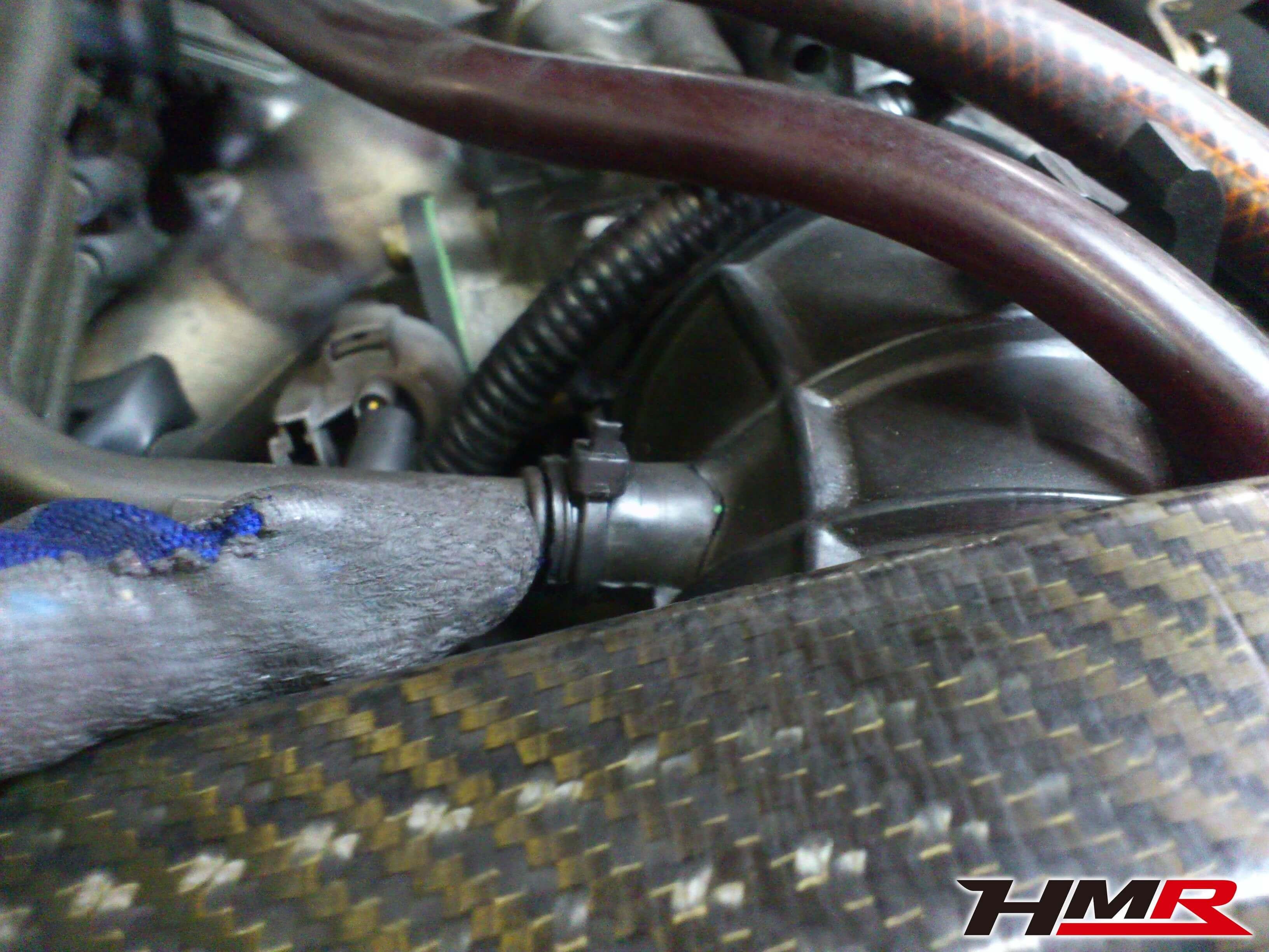 S2000 AP1 インテークパイプ亀裂