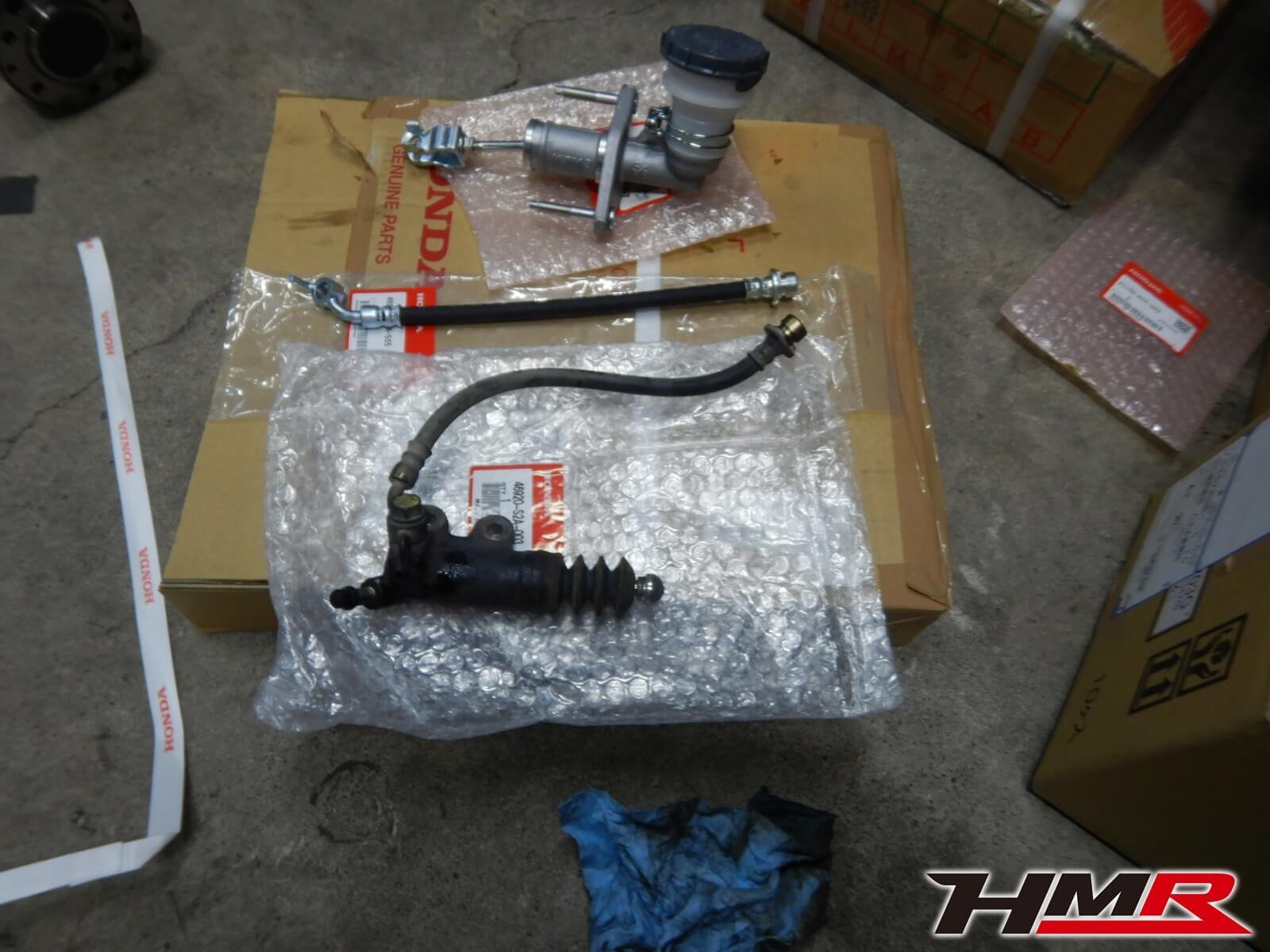 S2000 TYPE-V AP1 クラッチマスター交換