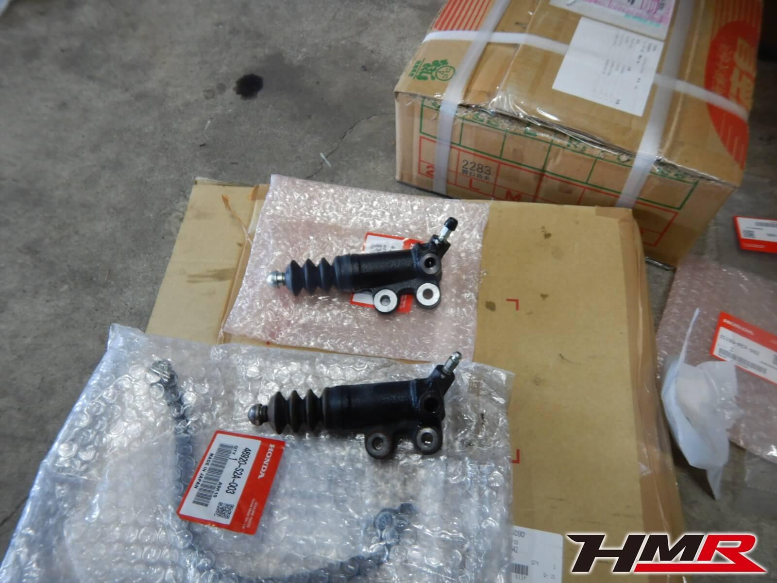 S2000 TYPE-V AP1 クラッチスレーブ交換