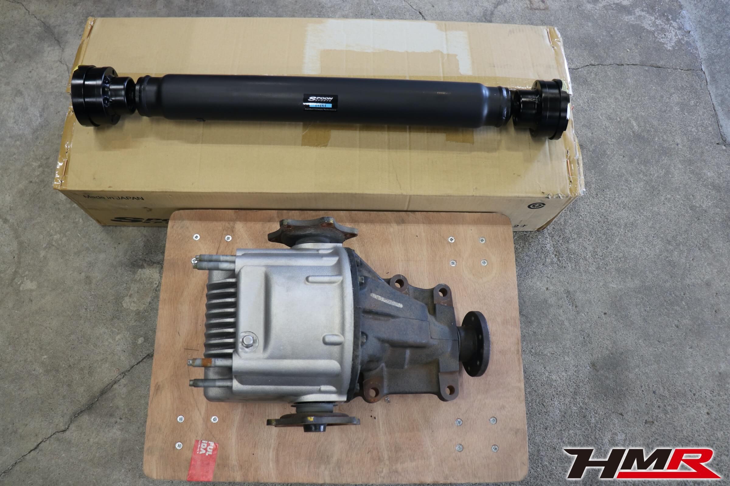 S2000 SPOONプロペラシャフト RG-OLSD交換