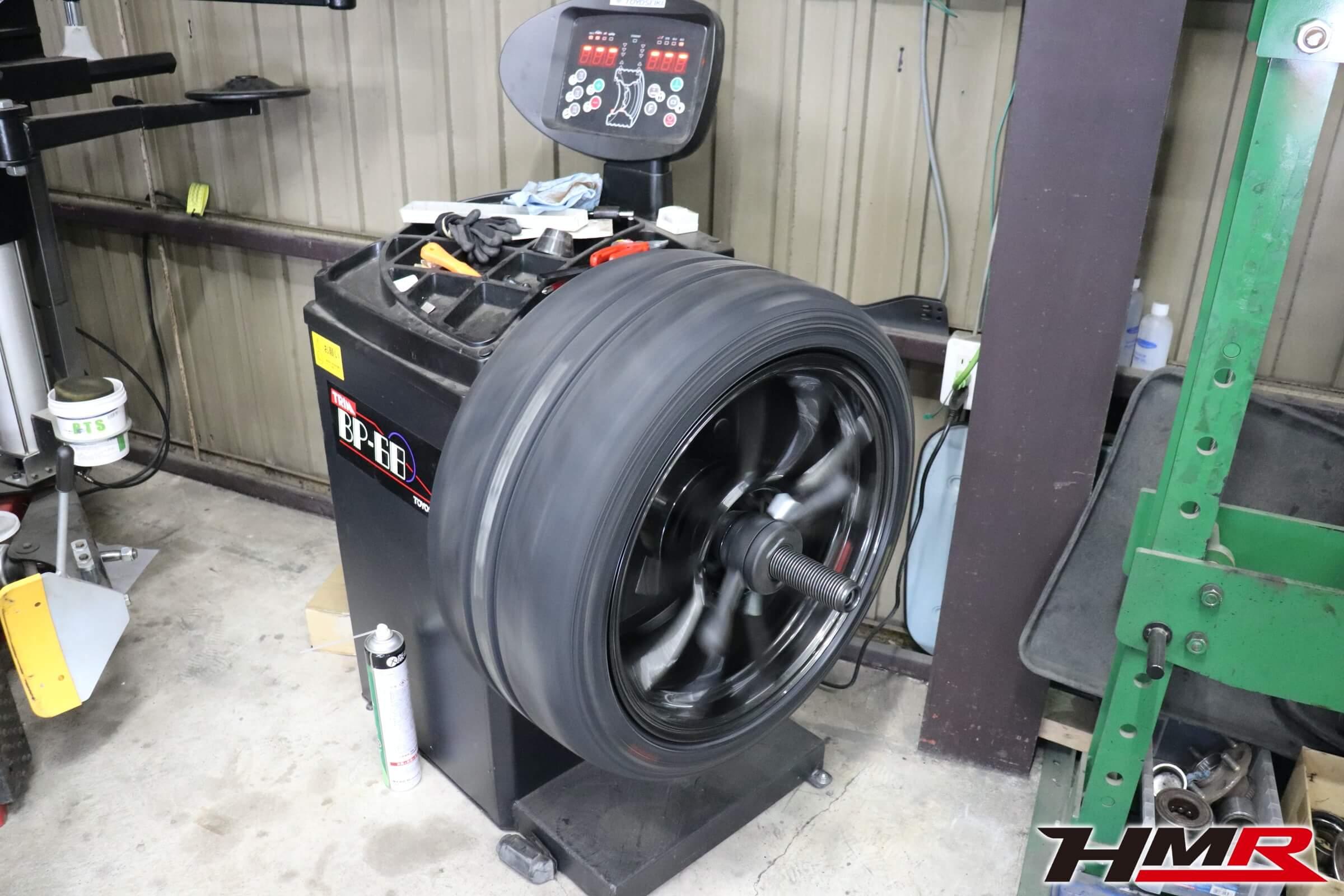 S2000 ディレッツァZ3タイヤ組み換え