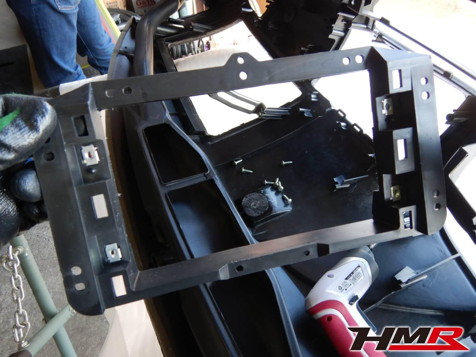 S2000 AP2 ダッシュボード加工