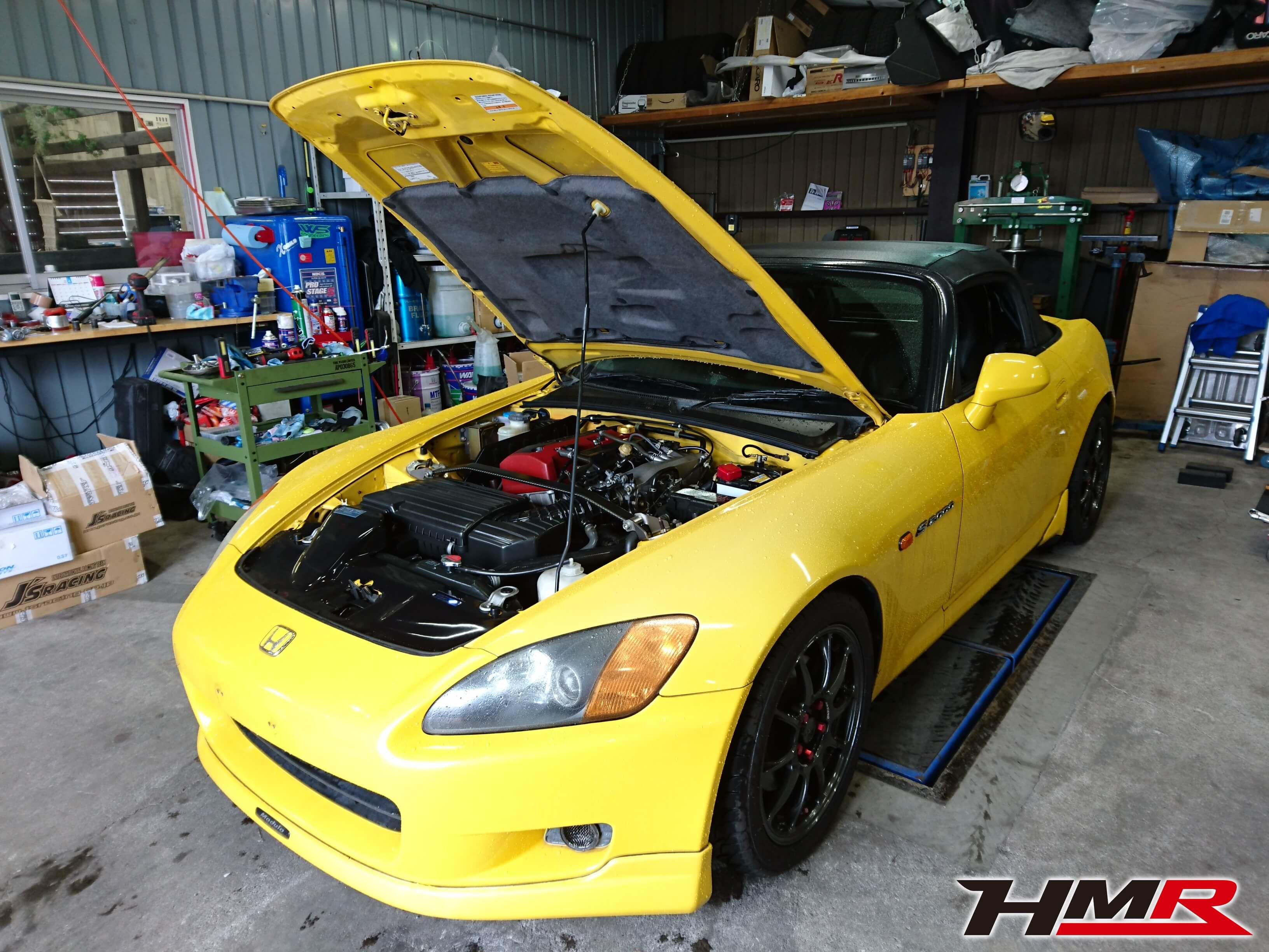 S2000(AP1)納車整備