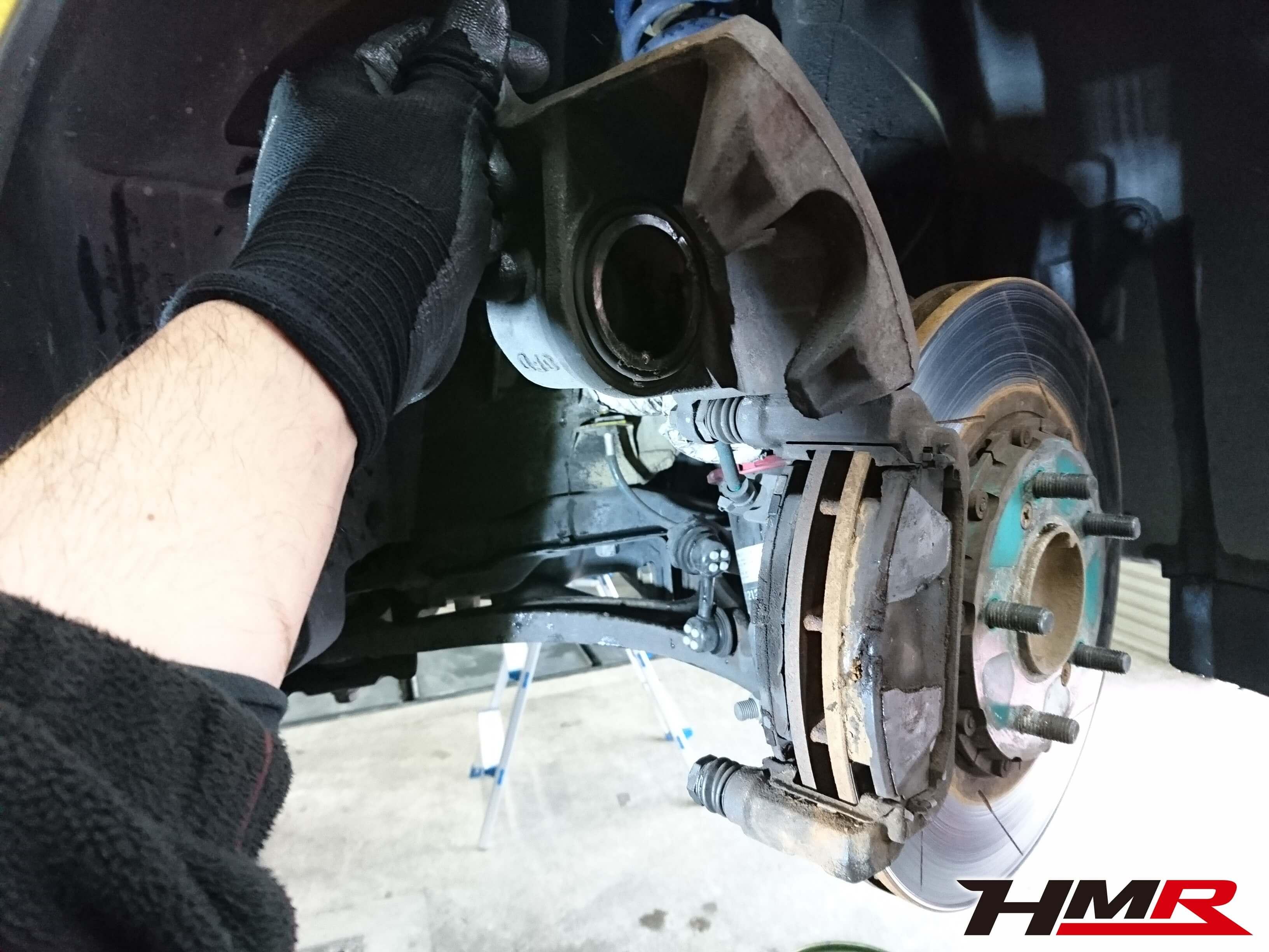 S2000(AP1)ブレーキ点検