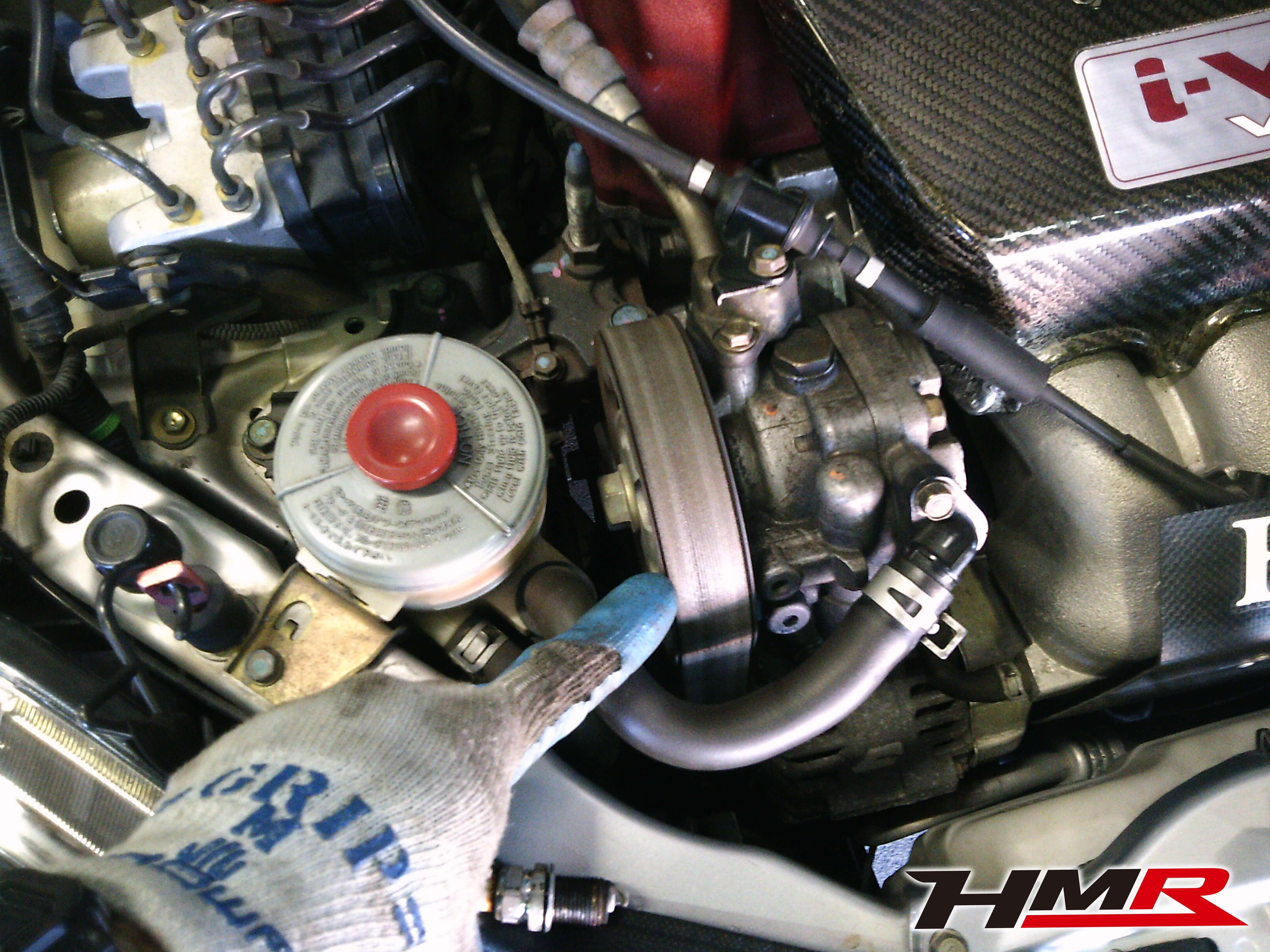 インテグラtypeR(DC5)車検整備