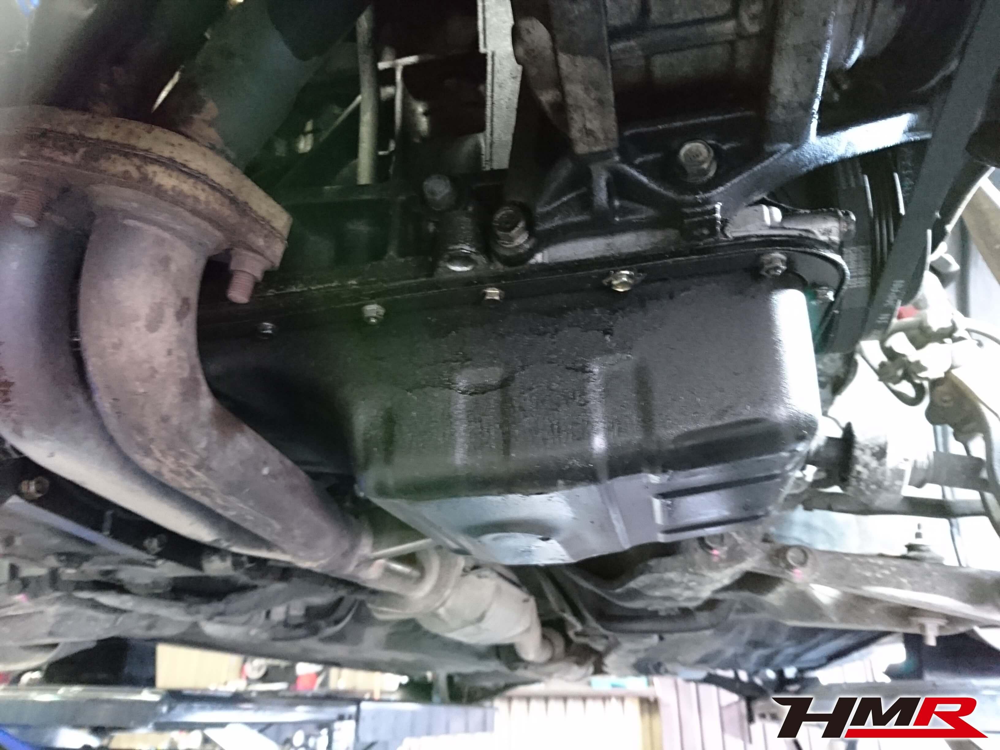 シビック(EG6)オイルパンP/K交換シビック(EG6)納車整備