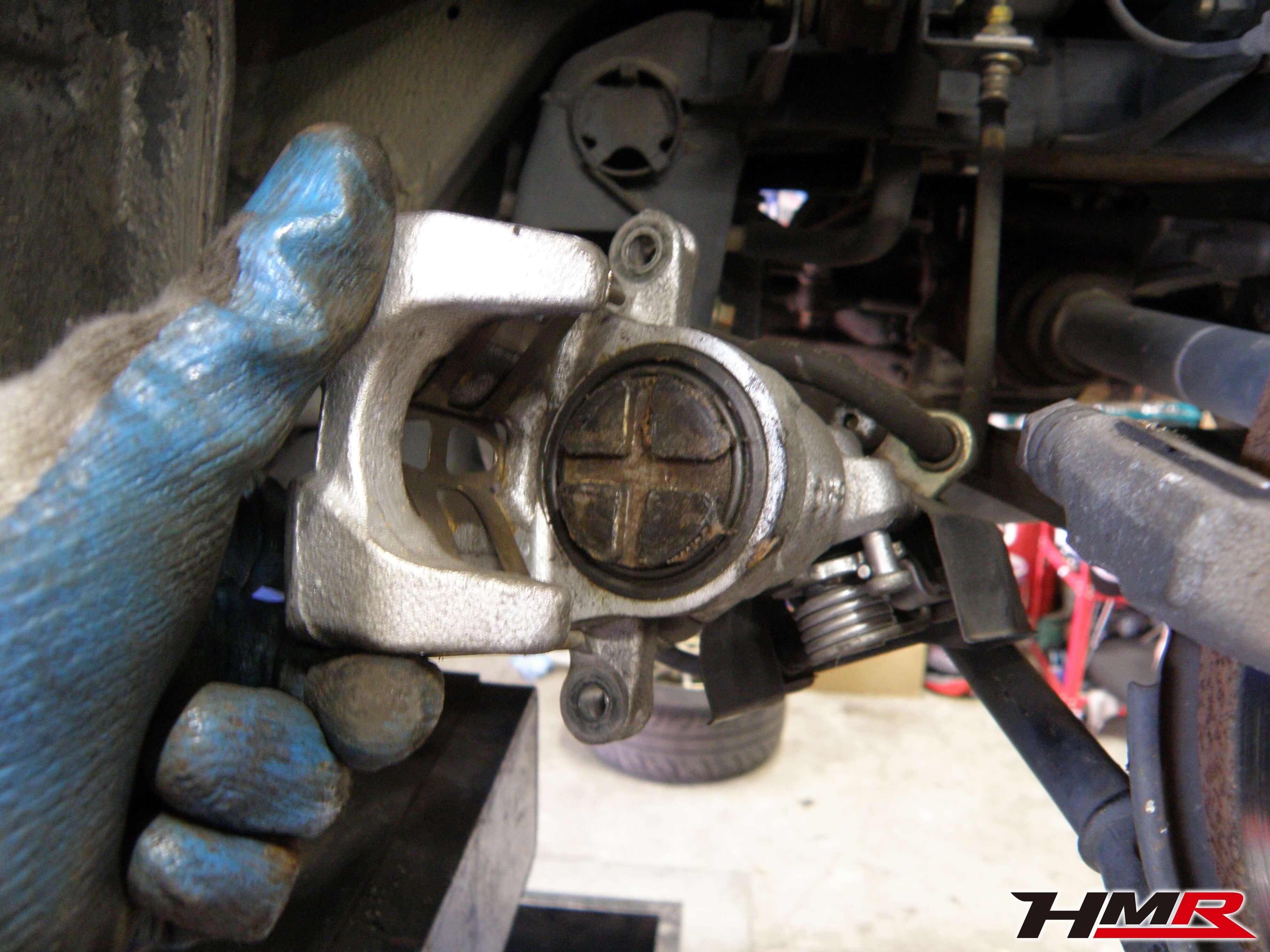 S2000(AP1)車検整備ブレーキ点検