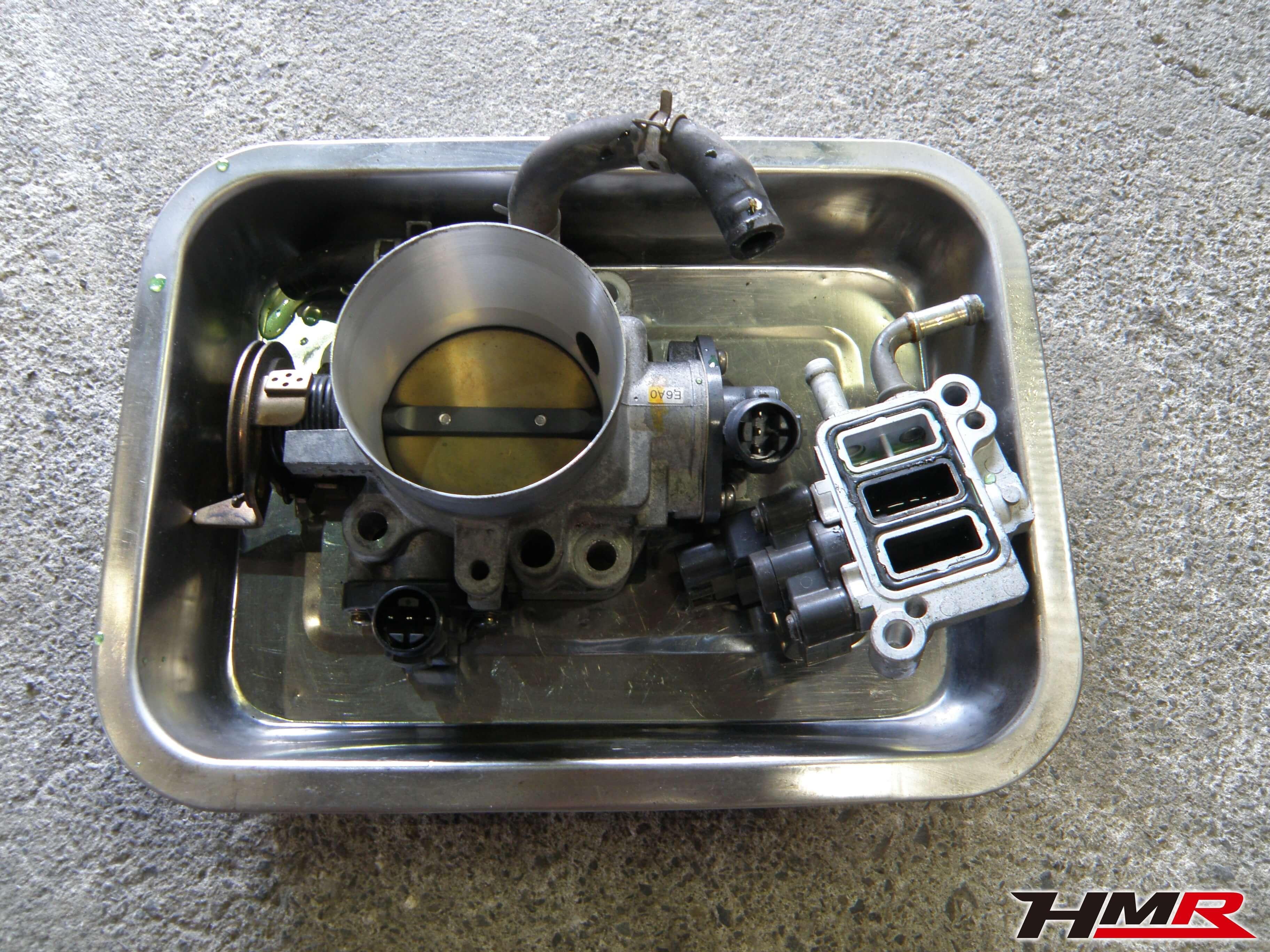 S2000(AP1)スロットル&RACV洗浄