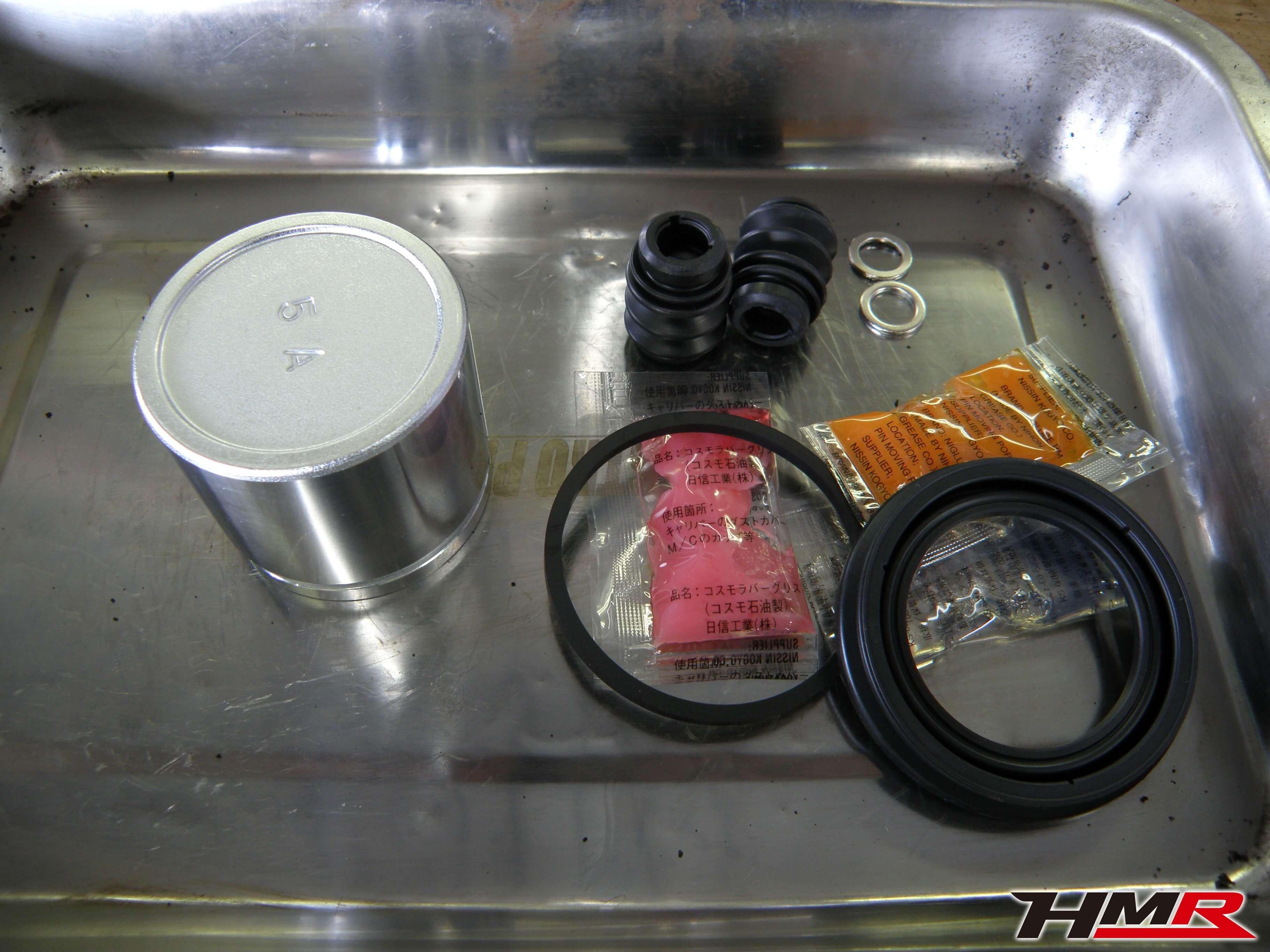 S2000(AP1)ブレーキO/H