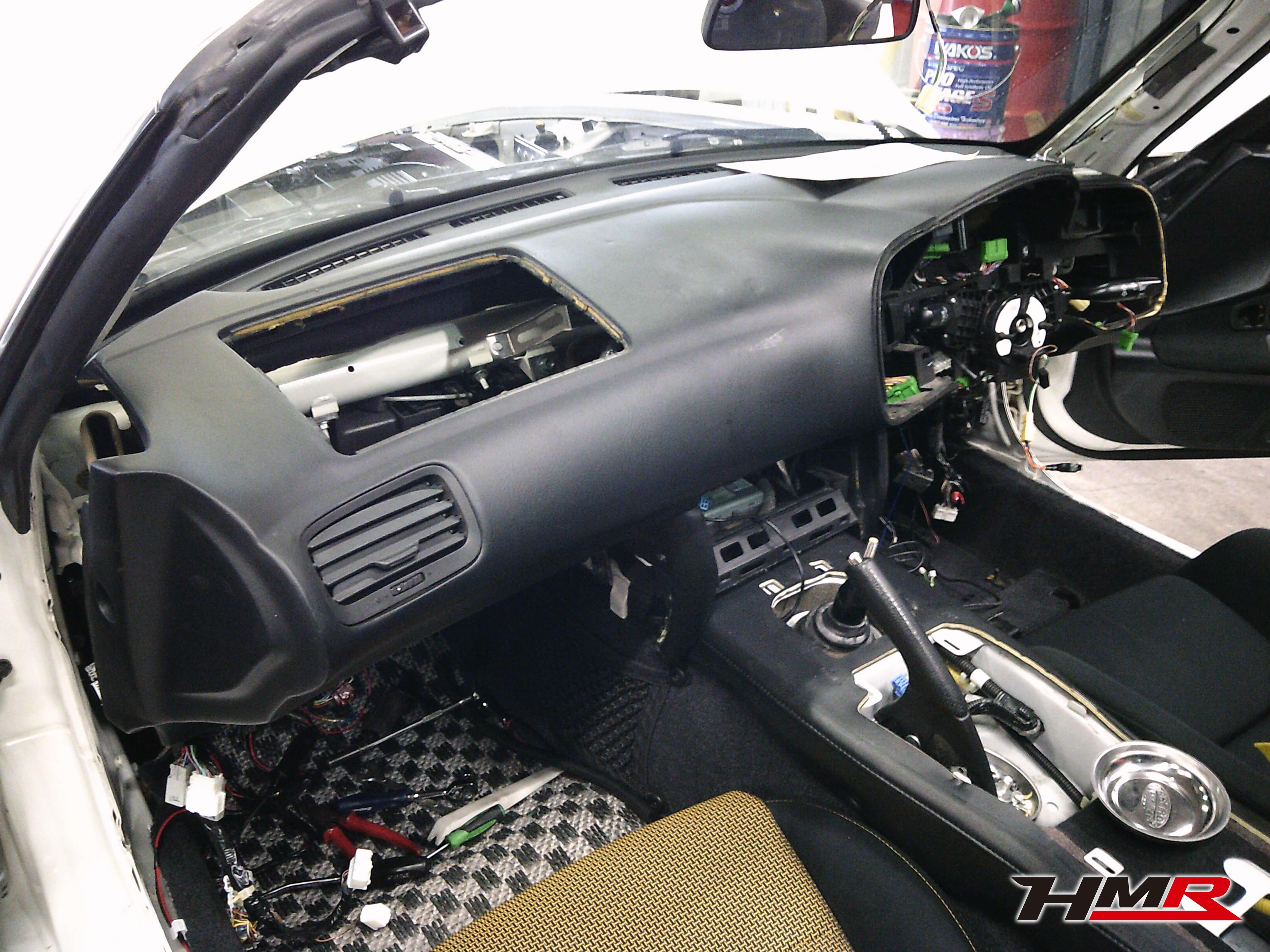 S2000 TYPE-S ダッシュボード交換