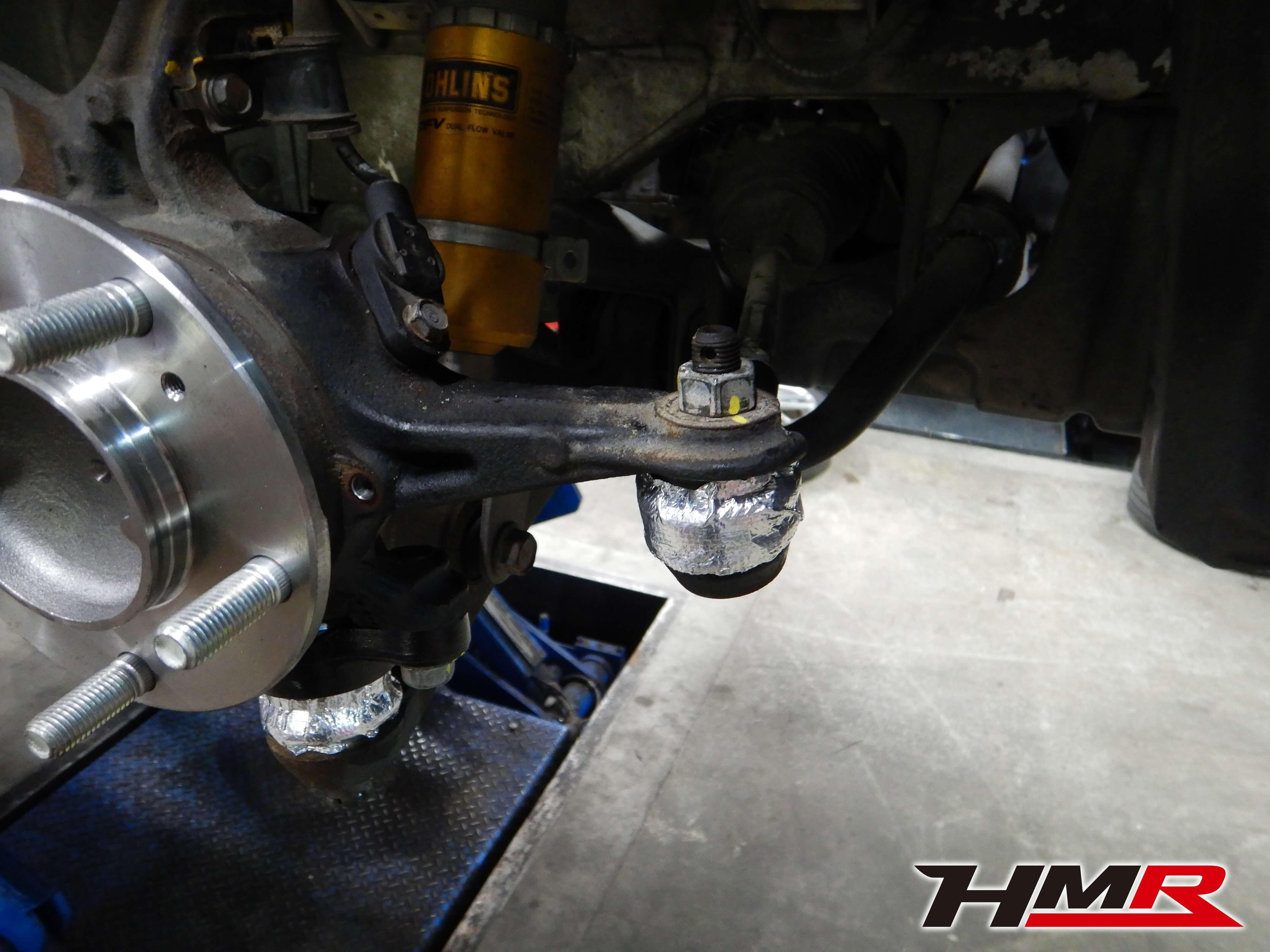 S2000 TYPE-S タイロッドエンドブーツ 遮熱対策