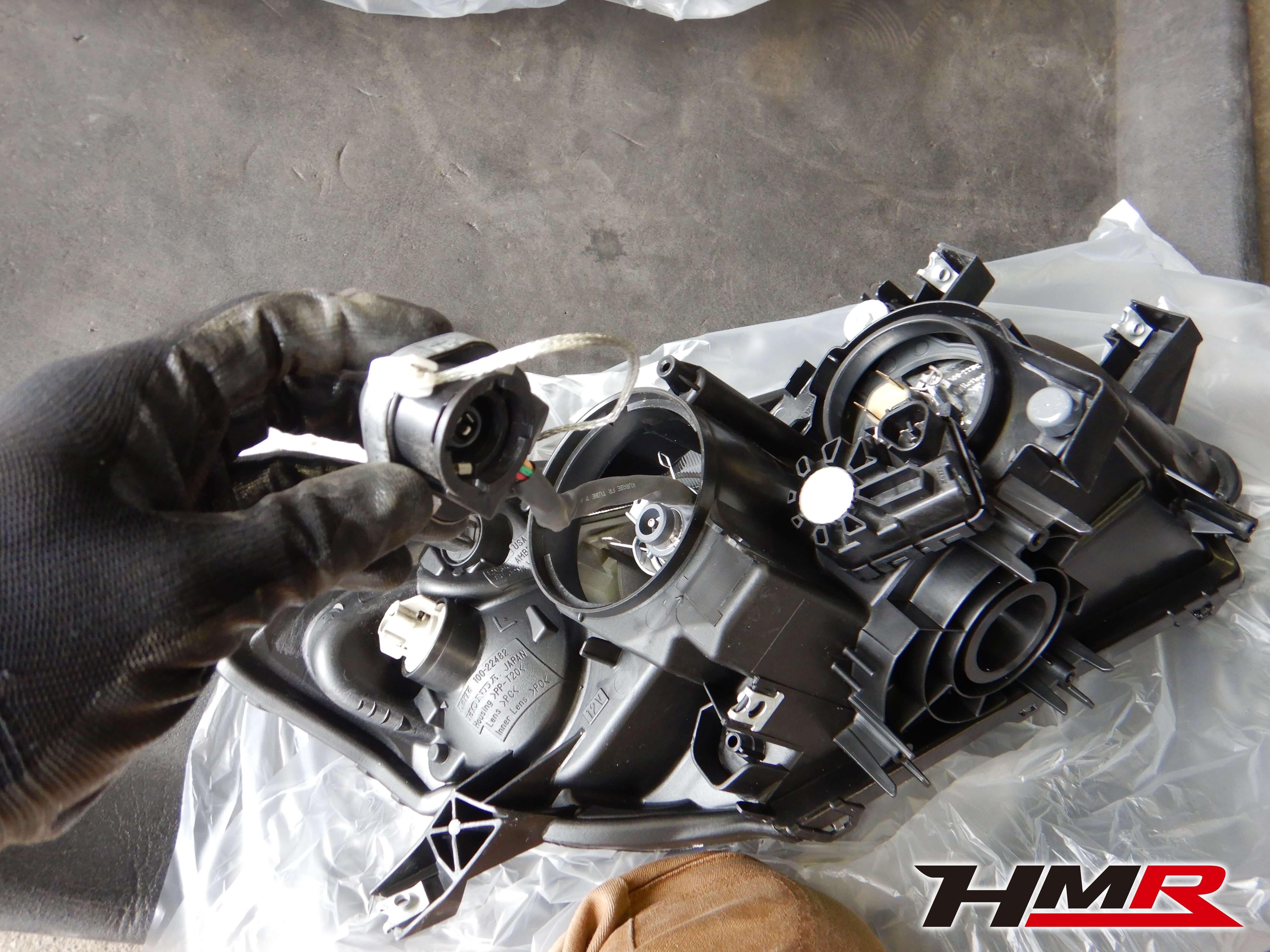S2000 TYPE-S ヘッドライト交換
