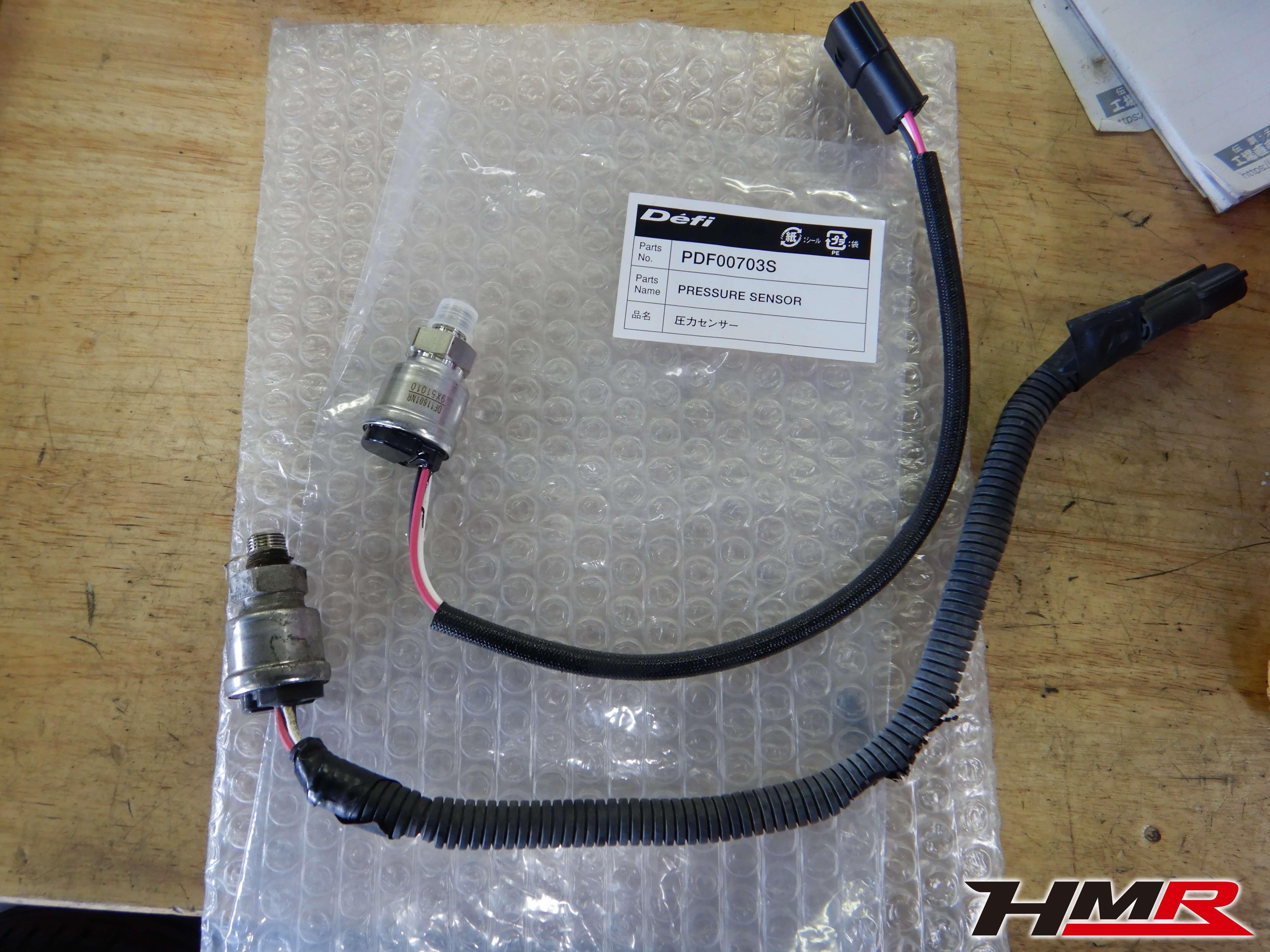 シビックユーロR FN2 Defi油圧センサー