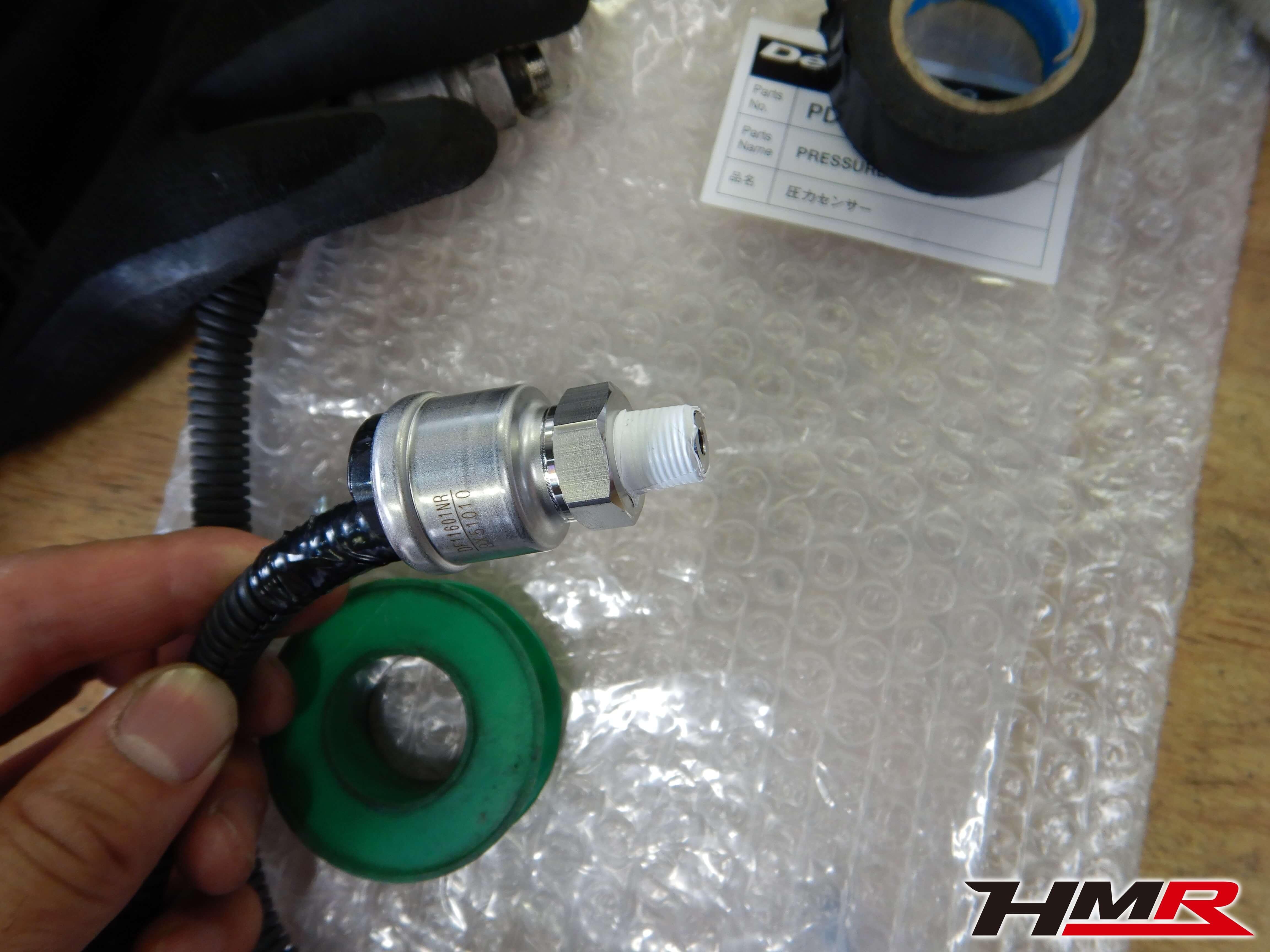 シビックユーロR FN2 油圧センサー交換