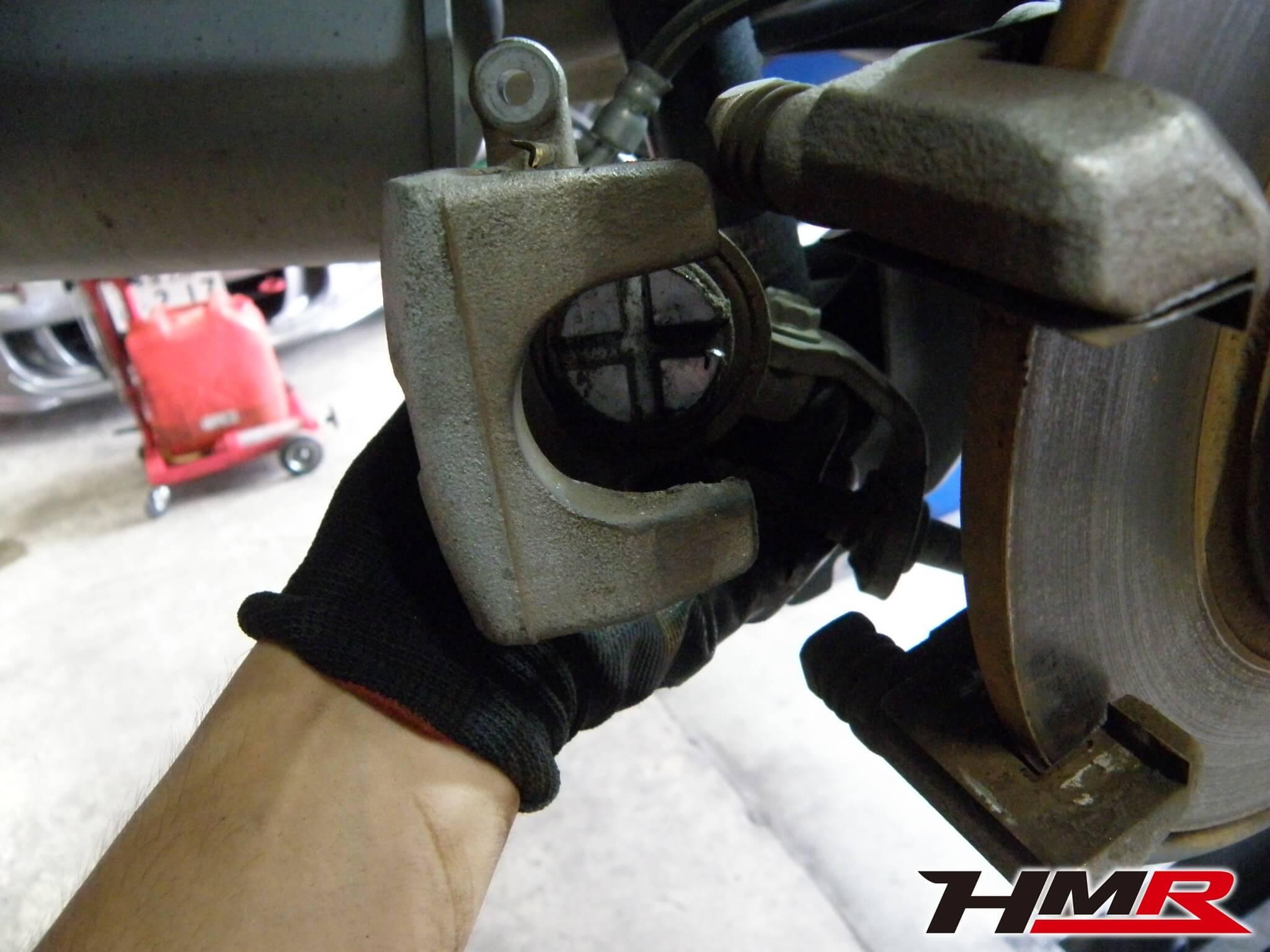 CR-Z 納車前整備 ブレーキ点検
