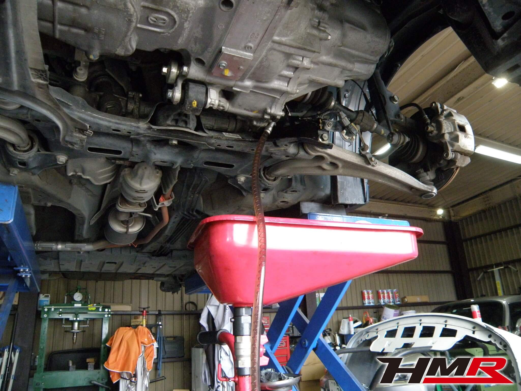 CR-Z 納車前整備 トランスミッションオイル交換
