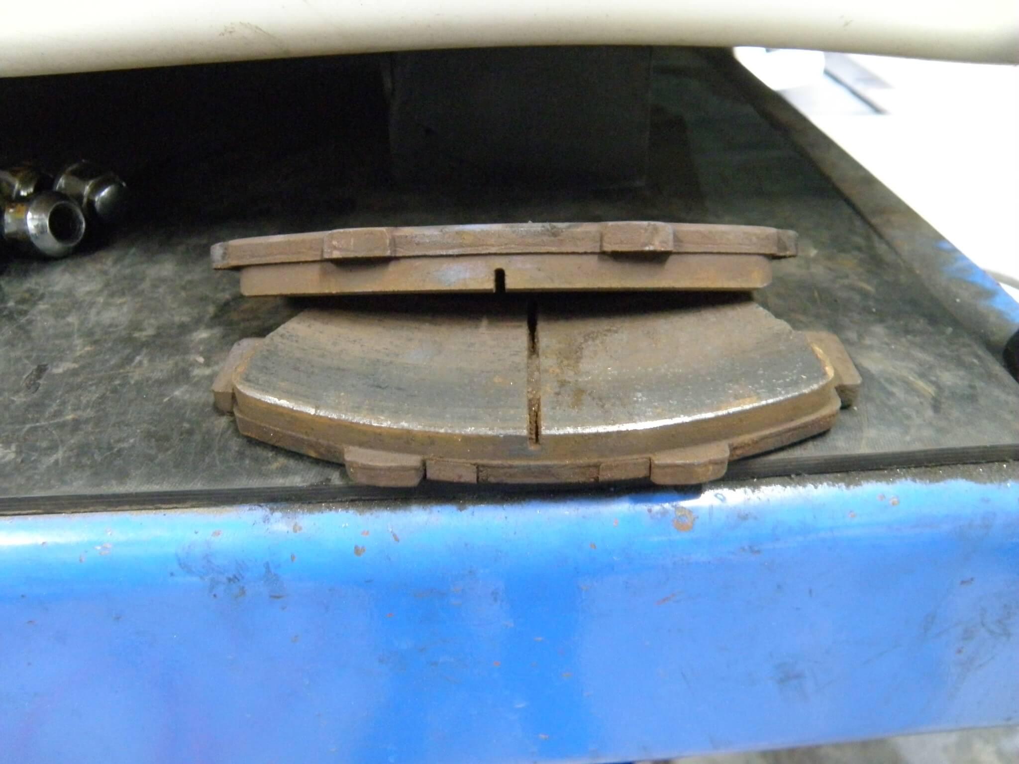 シビックタイプR EK9 ブレーキ点検
