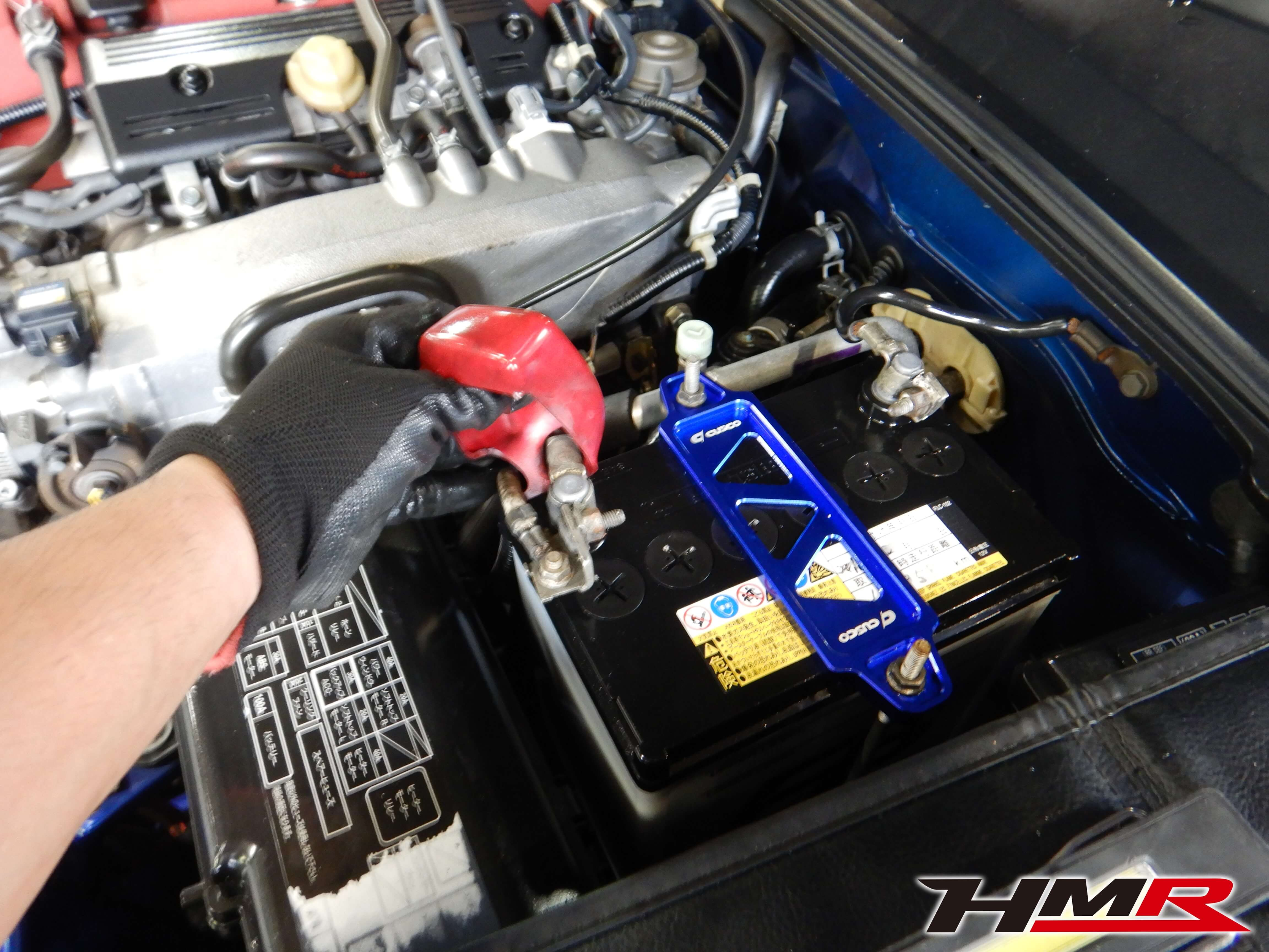 S2000(AP1)バッテリー点検