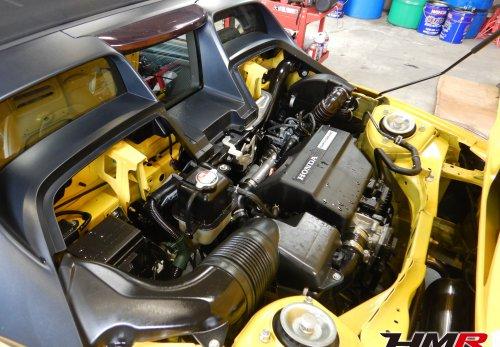 S660 JW5 エンジンルーム点検