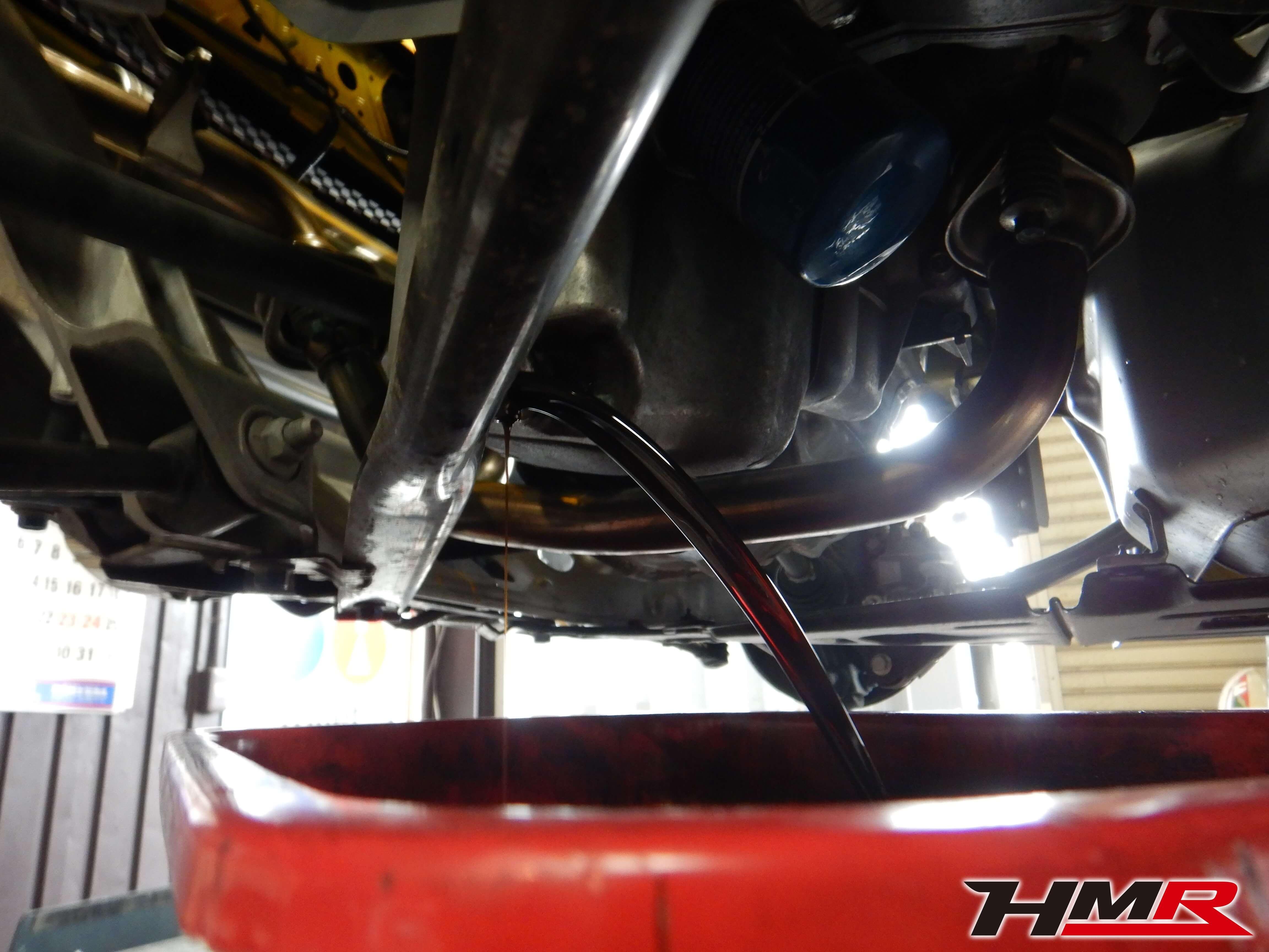 S660 JW5 エンジンオイル交換