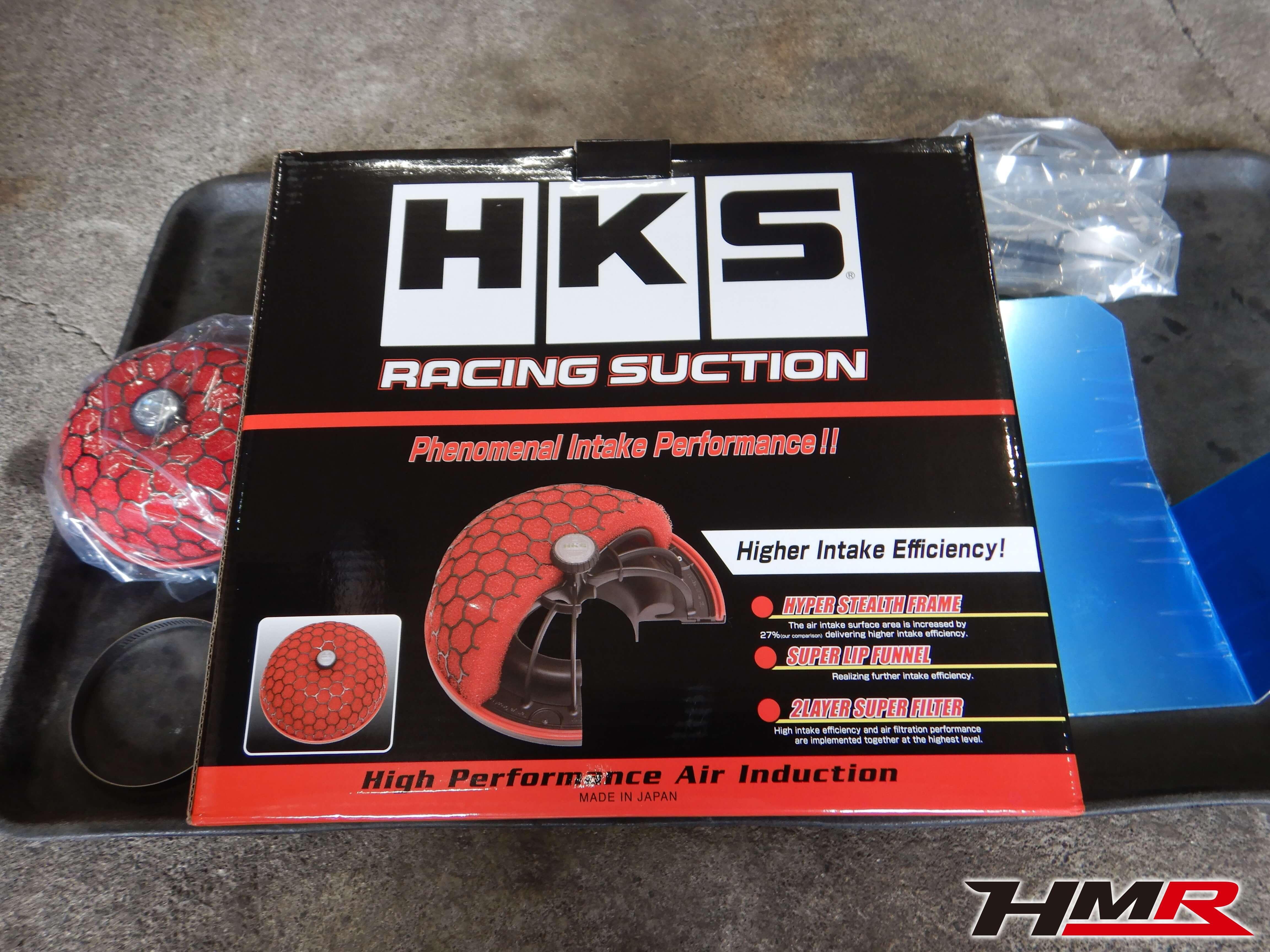 フィット GE8 HKS RACING SUCTION