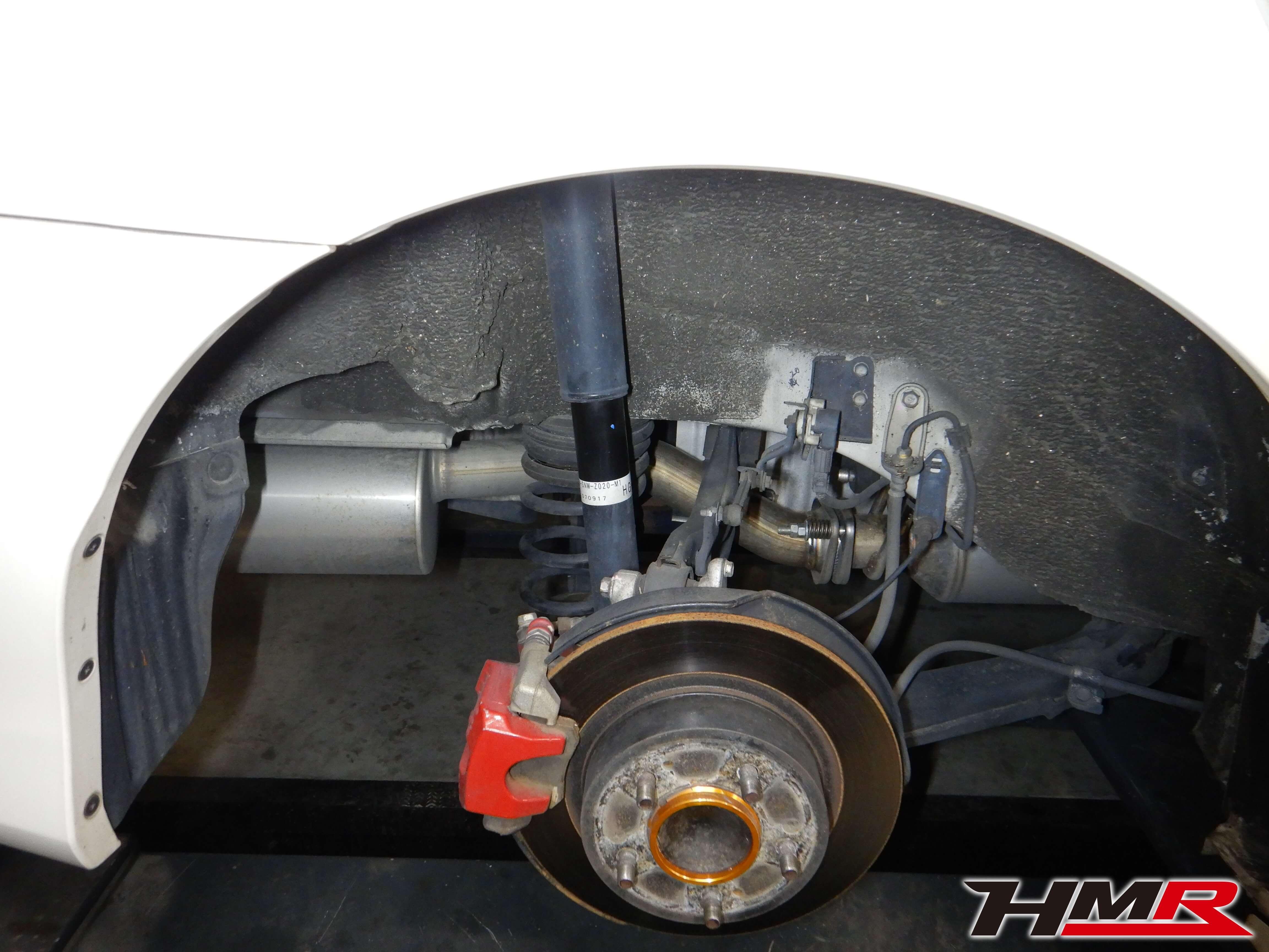 シビックTYPE-R FD2 スピリット車高調