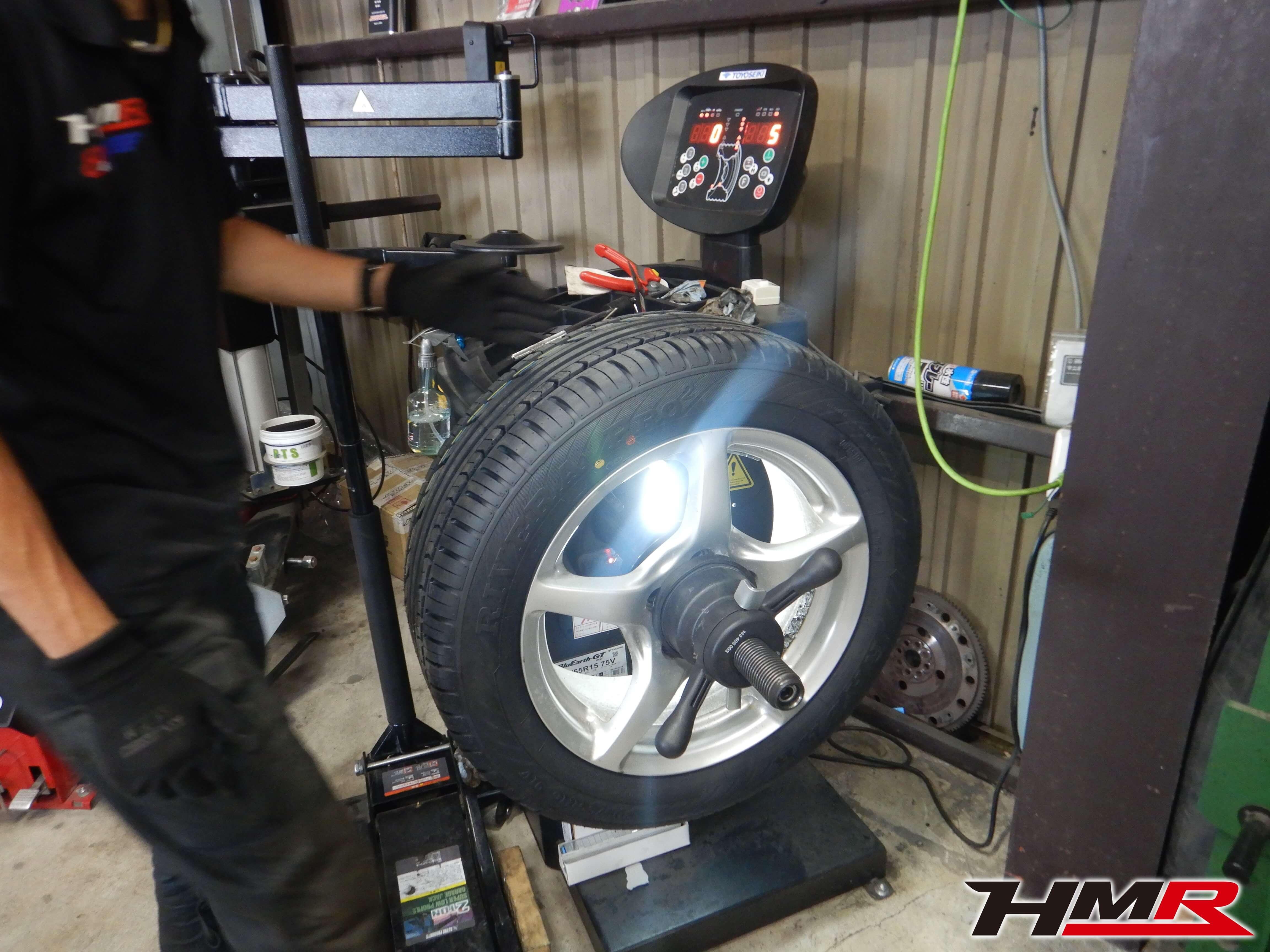 S2000 タイヤ組み換え